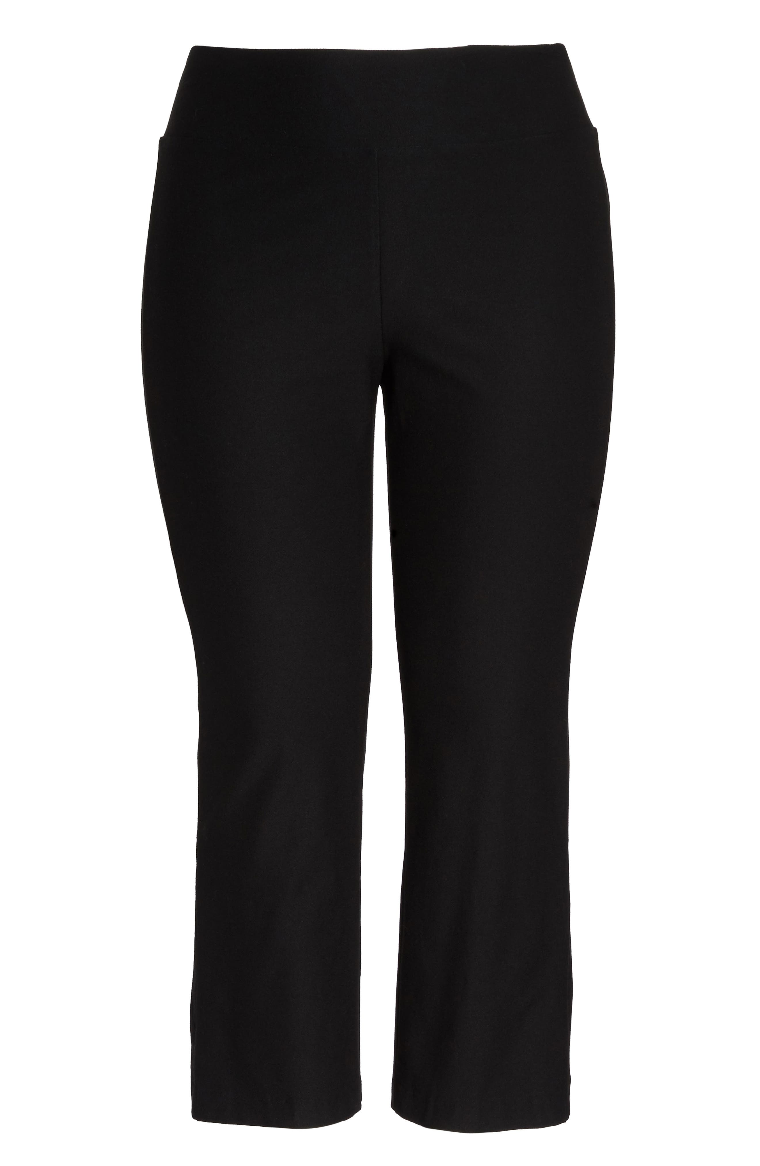Stretch Bootcut Pants,                             Alternate thumbnail 6, color,                             001