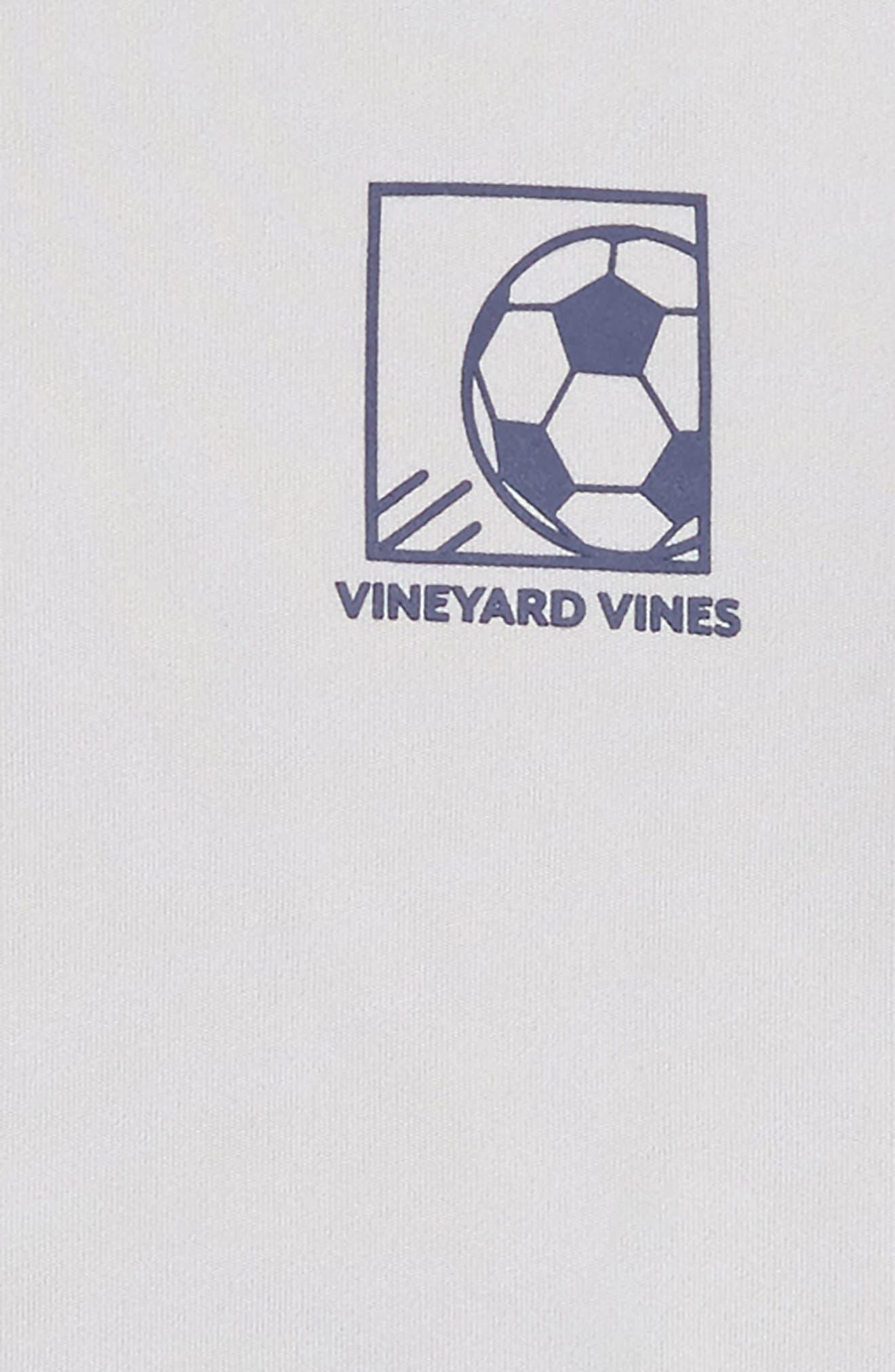 VINEYARD VINES,                             Soccer Box Performance T-Shirt,                             Alternate thumbnail 3, color,                             062