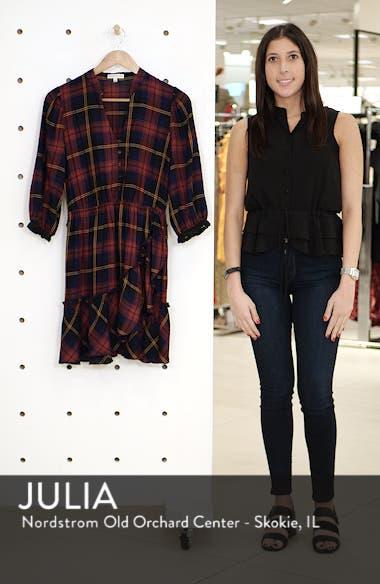 Plaid Ruffle Hem Dress, sales video thumbnail