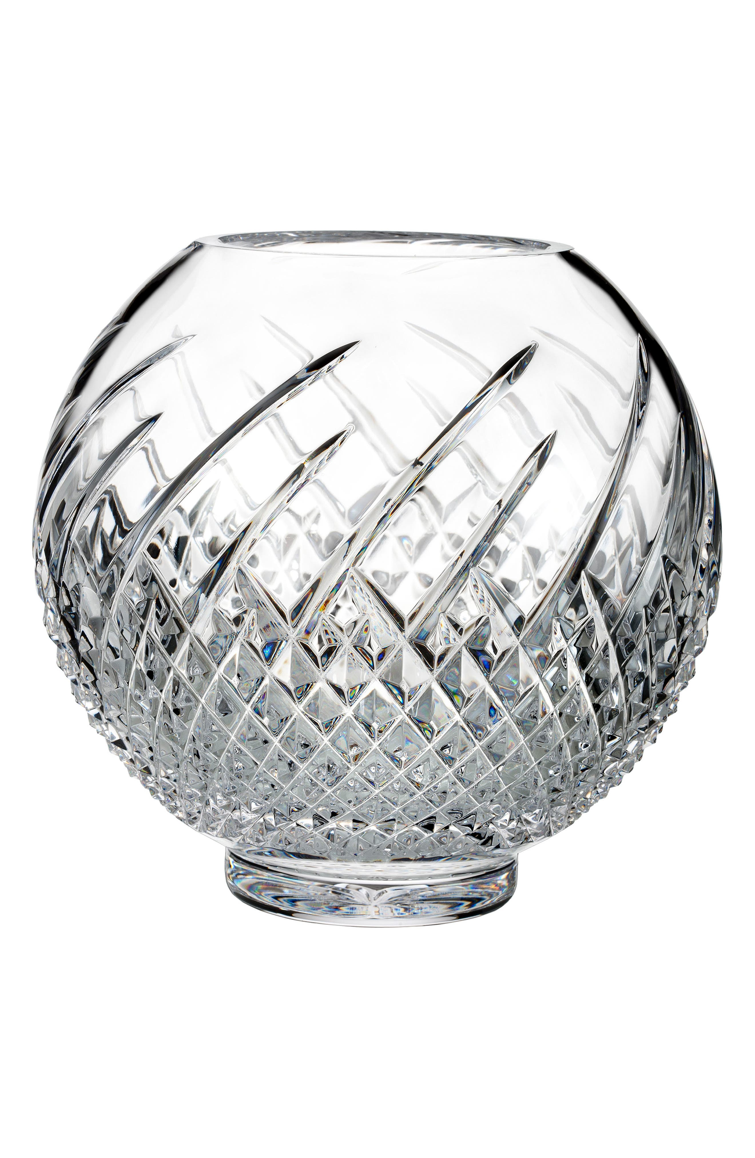 Wild Atlantic Way Lead Crystal Rose Bowl,                         Main,                         color, 100