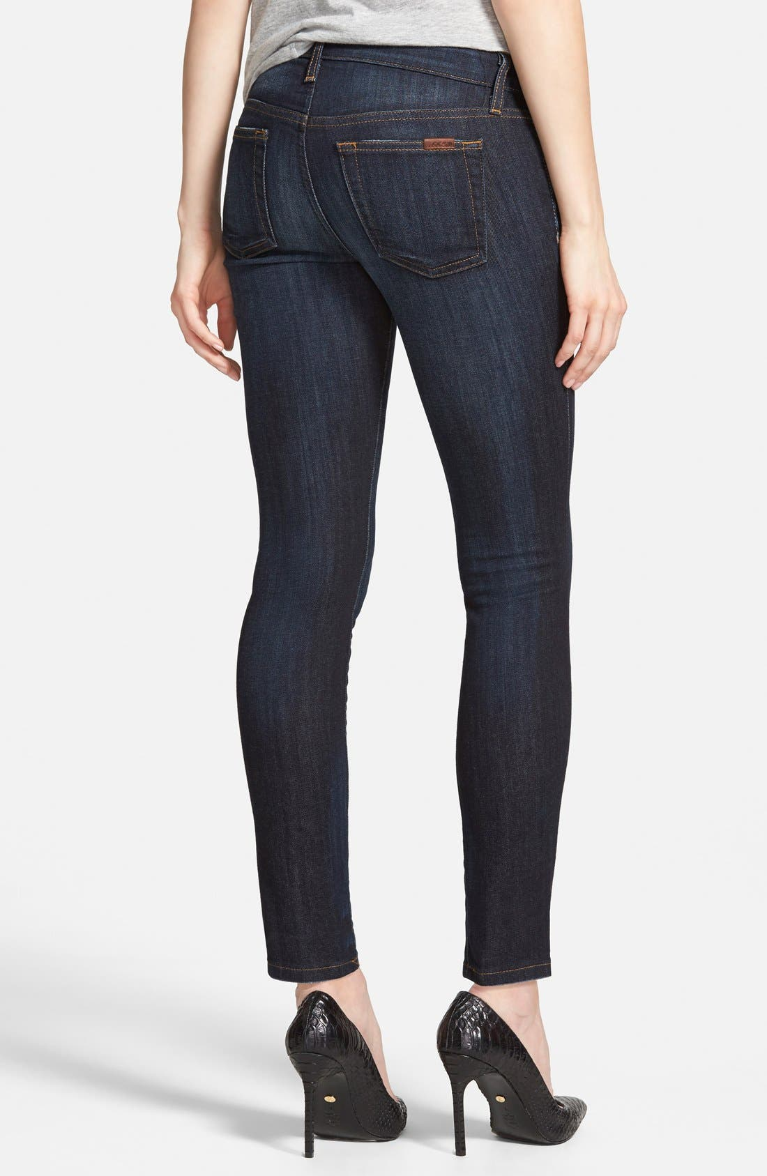 Skinny Ankle Jeans,                             Alternate thumbnail 2, color,                             410