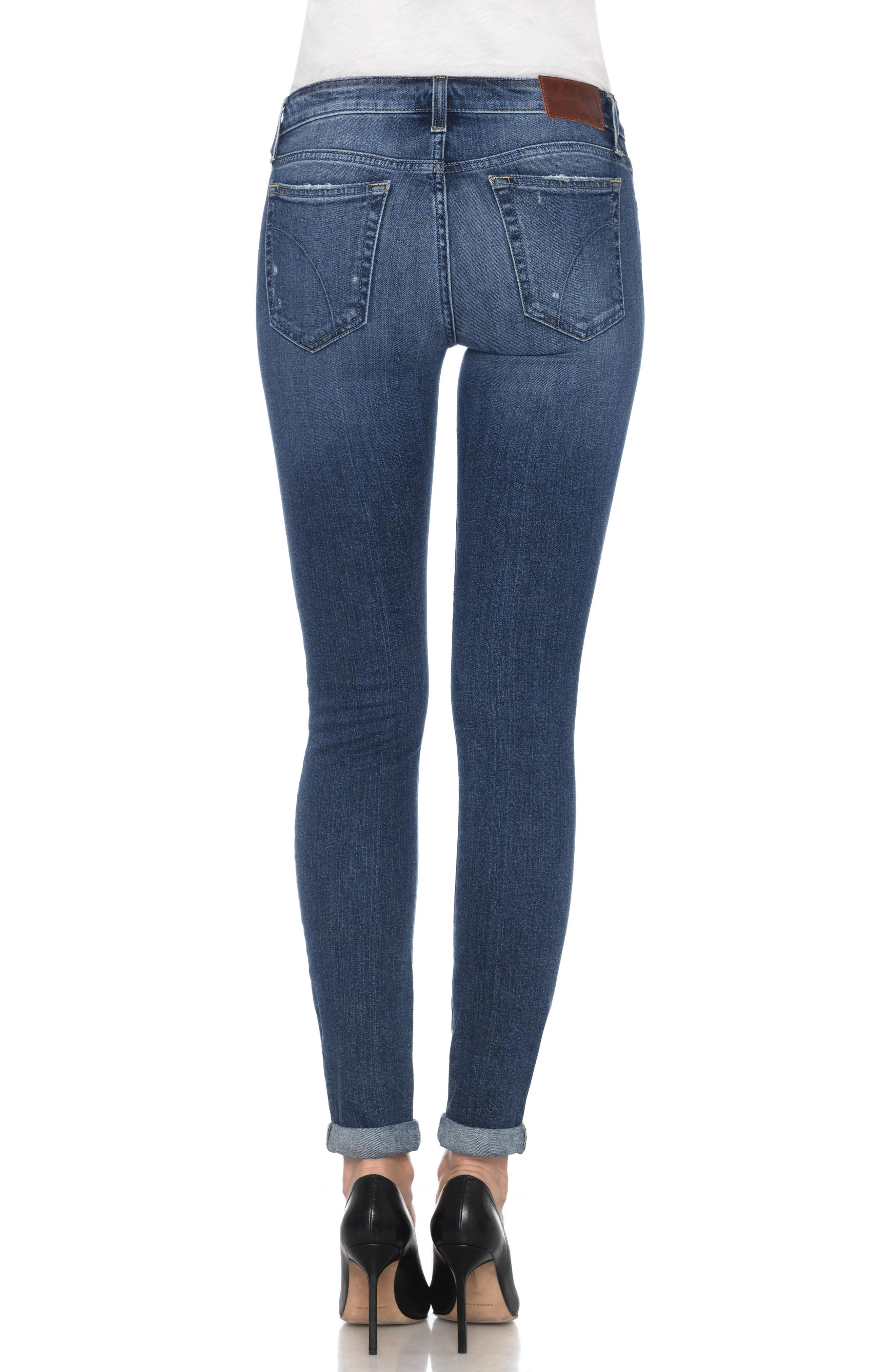 Icon Ankle Skinny Jeans,                             Alternate thumbnail 2, color,                             ADDISON