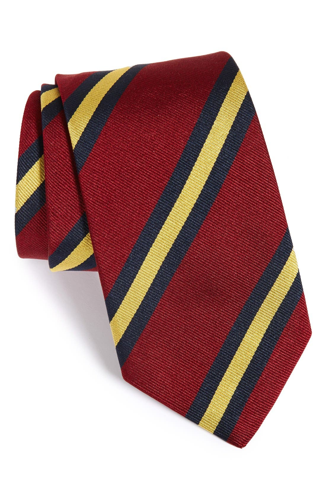 StripeSilk Tie,                             Main thumbnail 1, color,                             930
