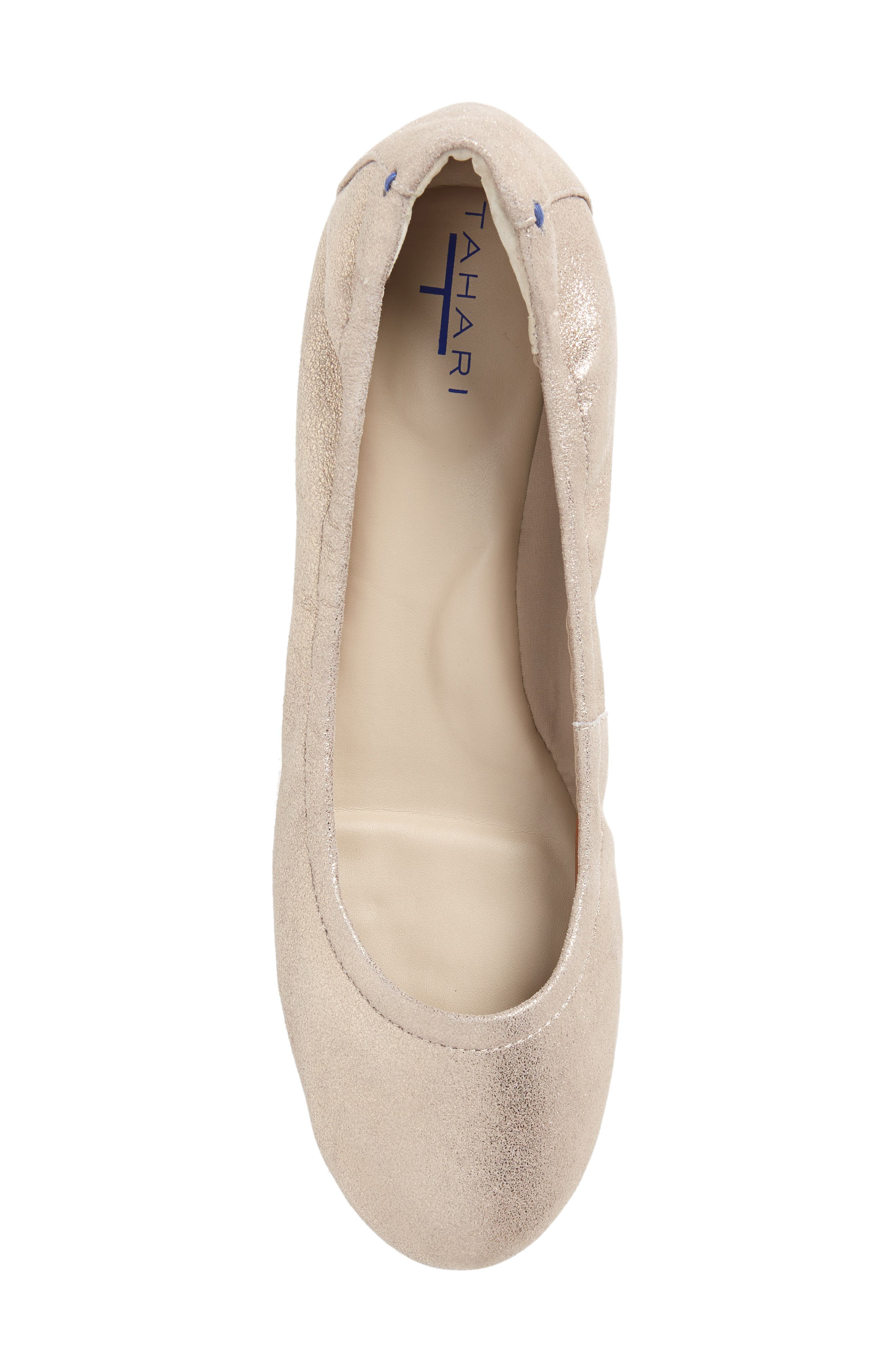 Helena Flat,                             Alternate thumbnail 5, color,                             TAUPE NUBUCK LEATHER