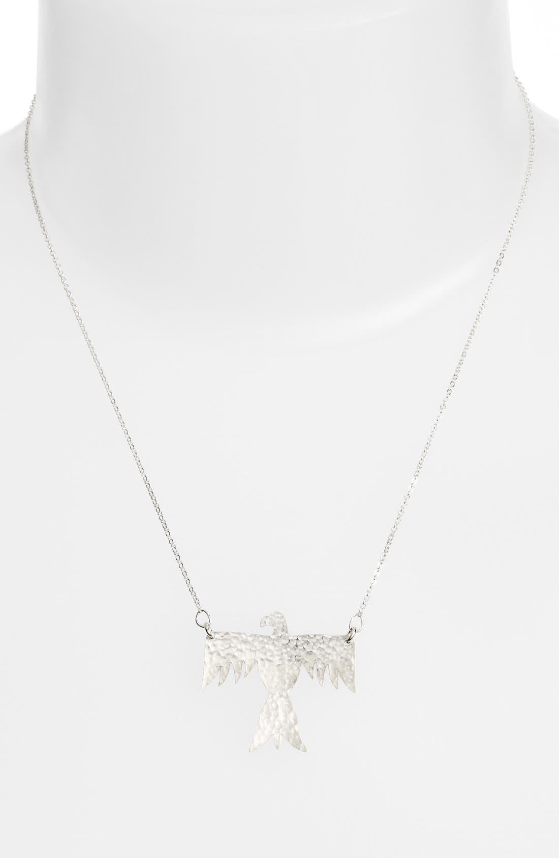 Phoenix Pendant Necklace,                         Main,                         color, 040