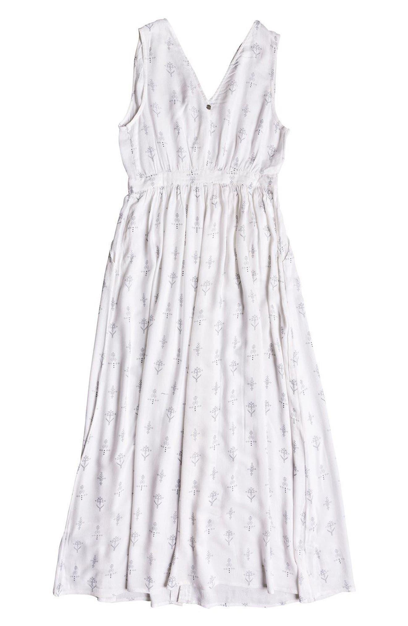 Apache Nature Print Maxi Dress,                             Alternate thumbnail 6, color,                             110