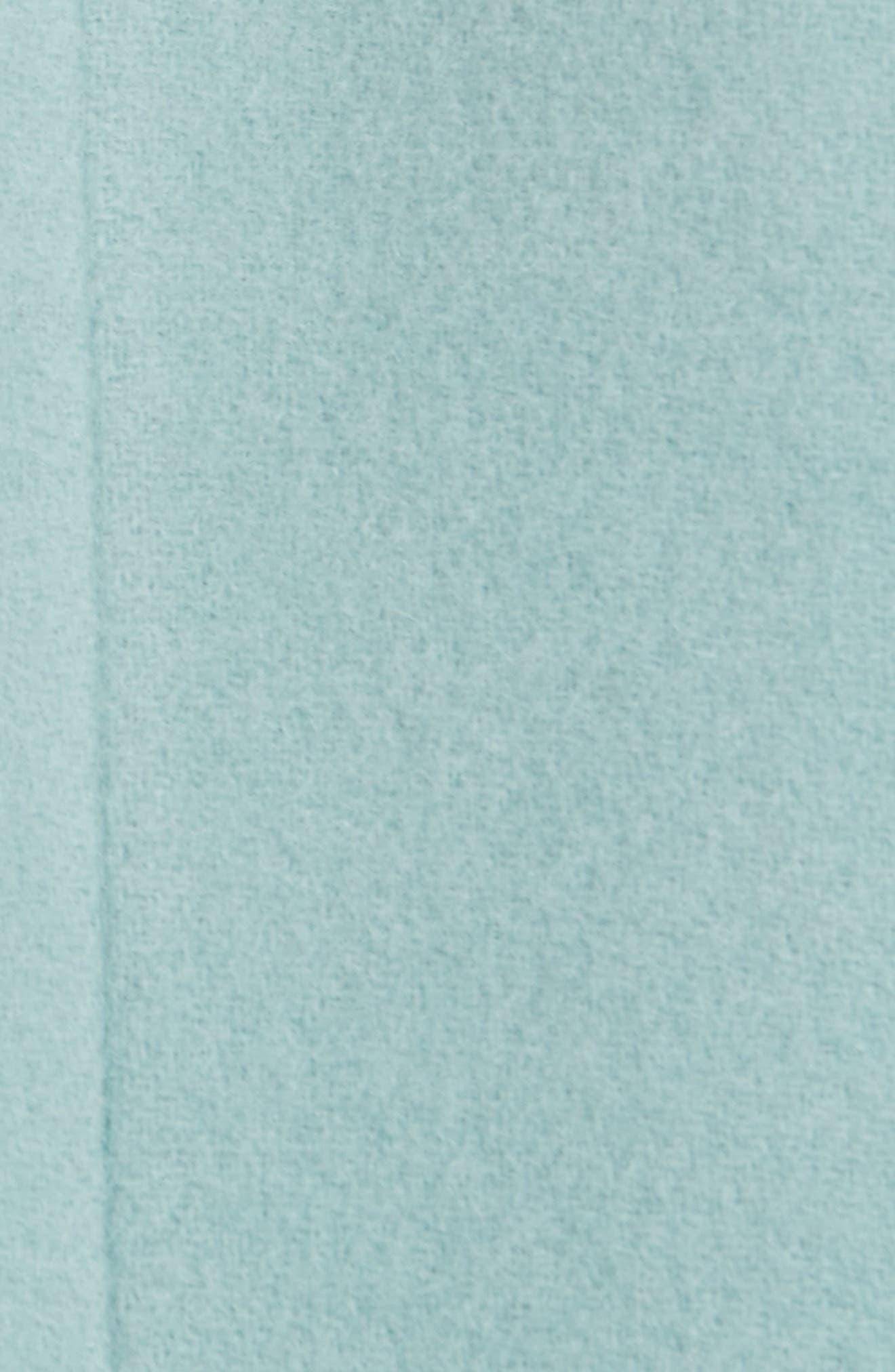 Wool & Mohair Coat,                             Alternate thumbnail 7, color,                             LIGHT BLUE