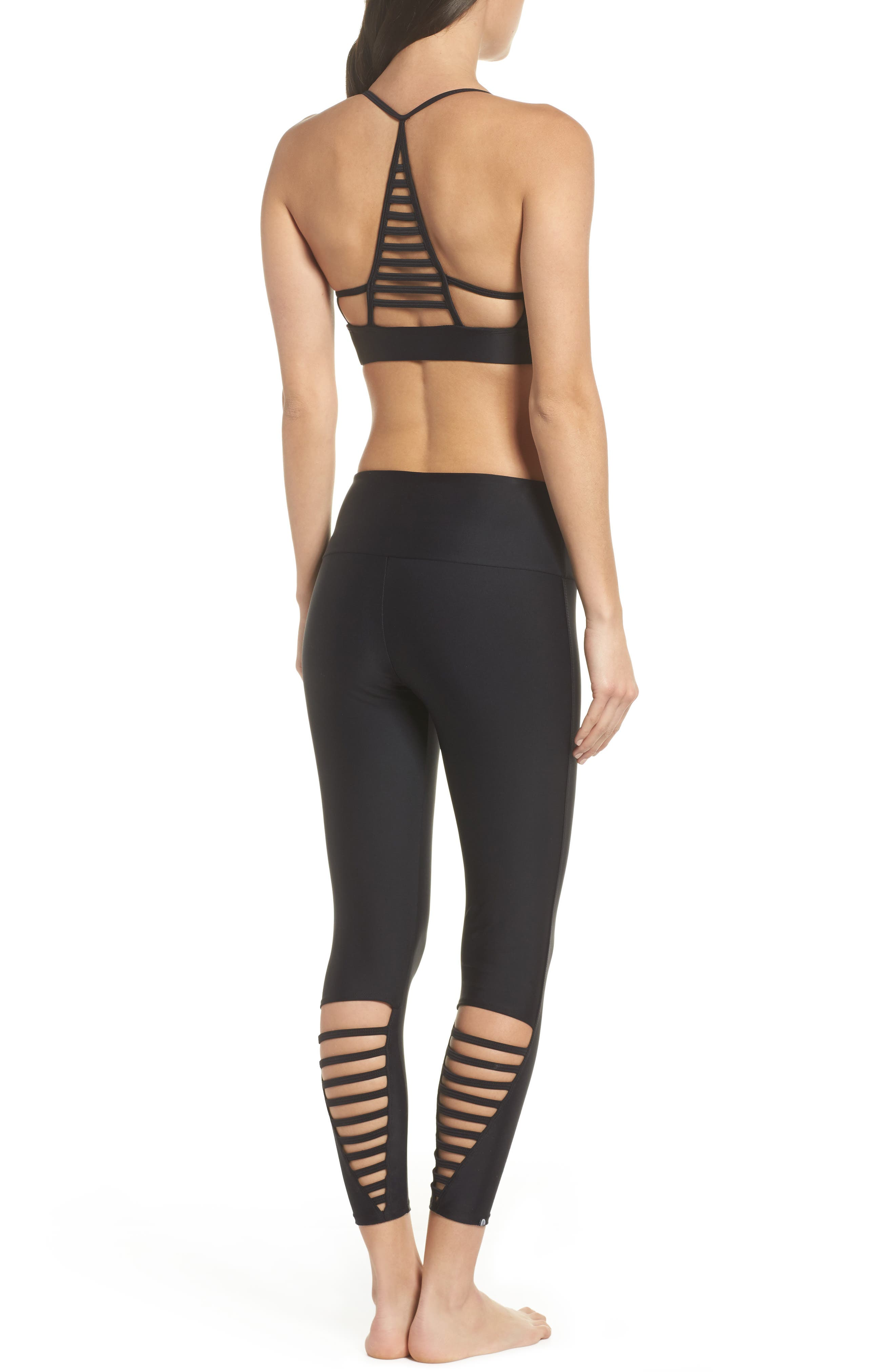 Elevate Sports Bra,                             Alternate thumbnail 8, color,                             001