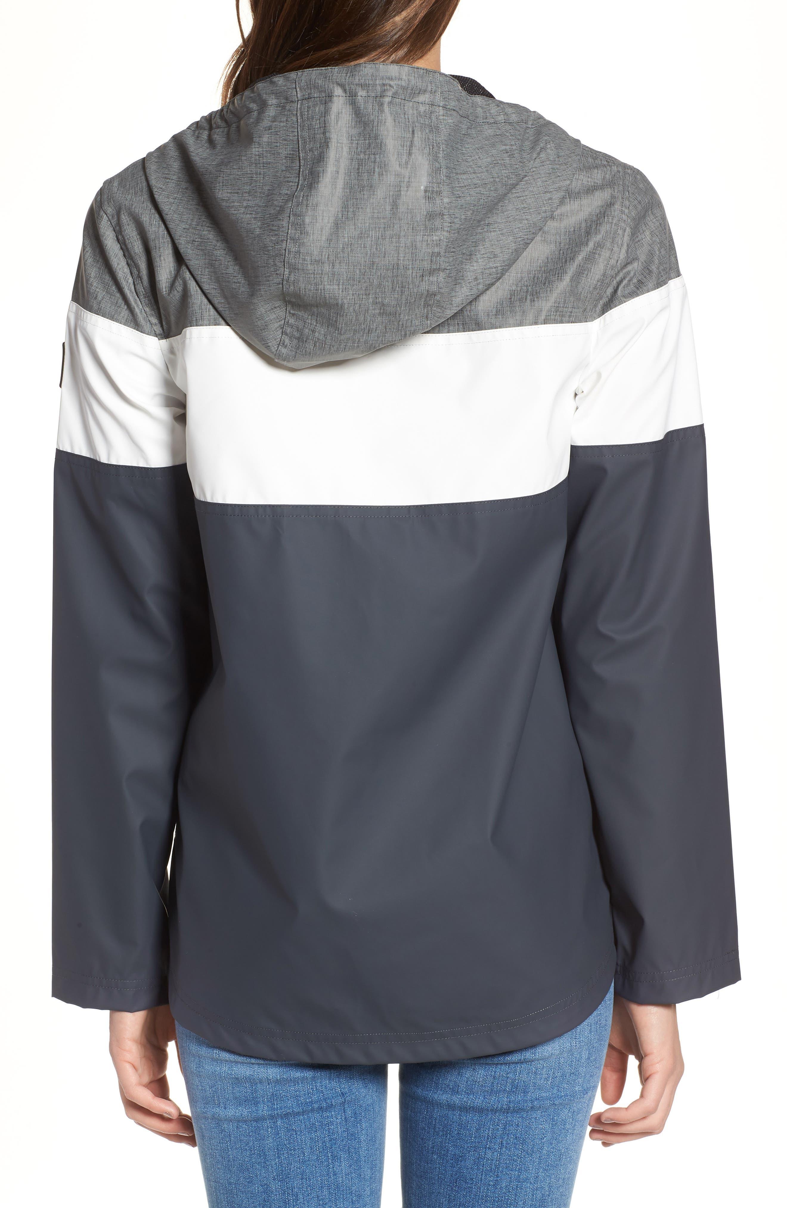 Hooded Raincoat,                             Alternate thumbnail 2, color,                             007