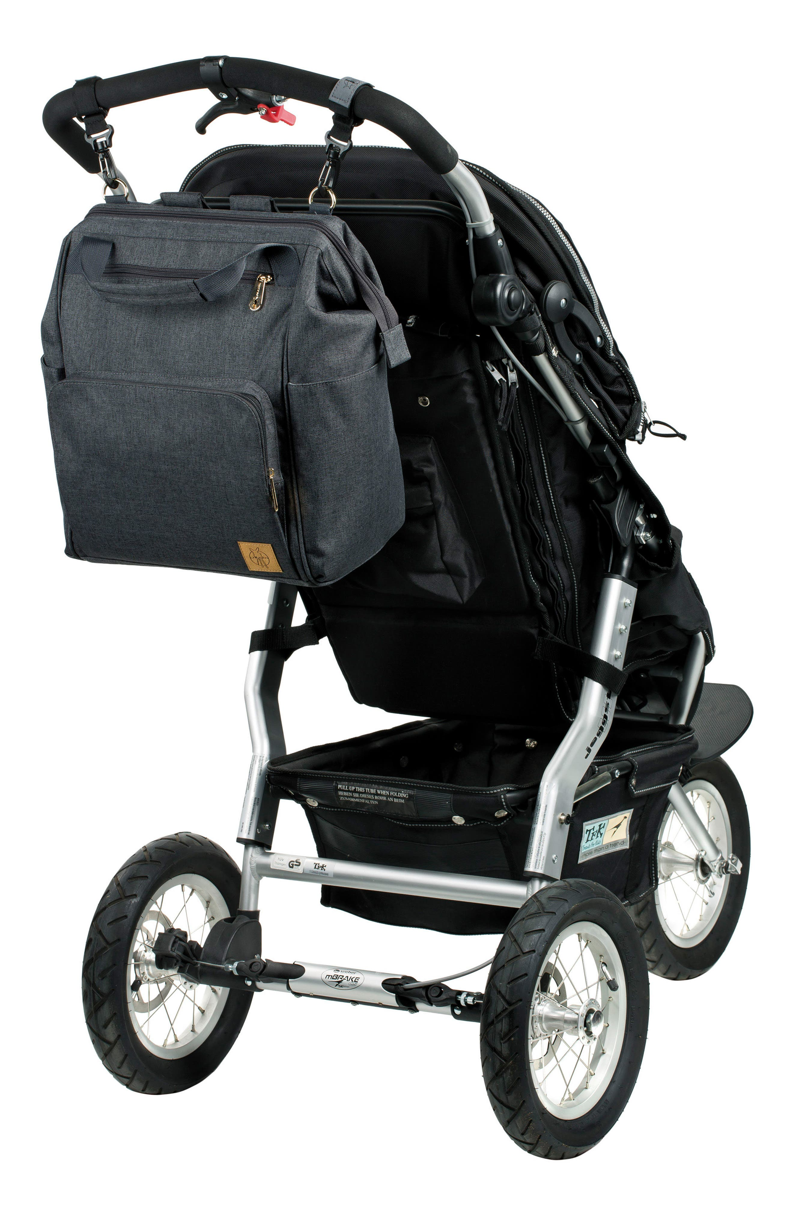 Glam Goldie Diaper Backpack,                             Alternate thumbnail 11, color,                             ANTHRACITE