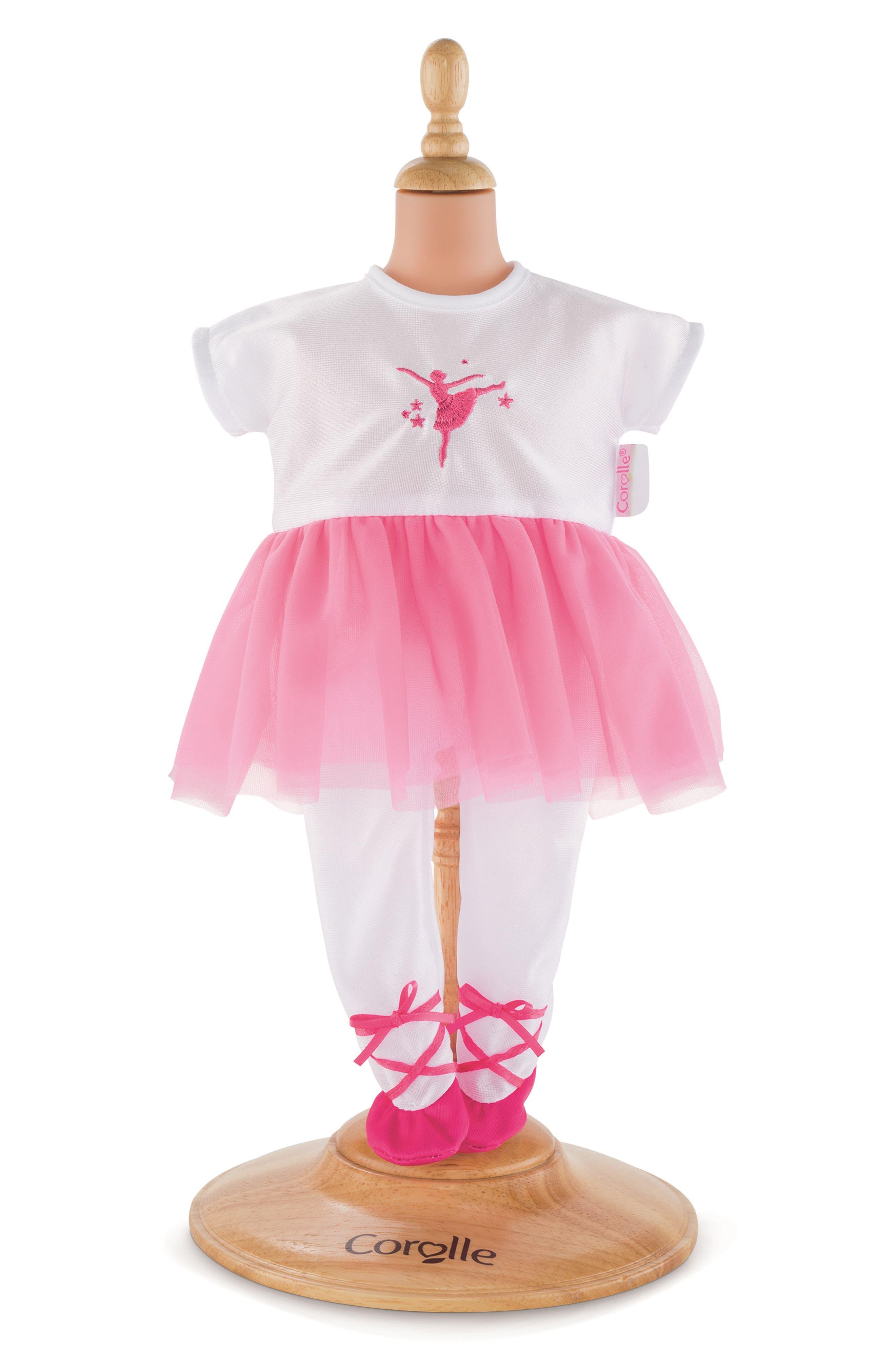 Toddler Girls Corolle Ballerina Doll Costume