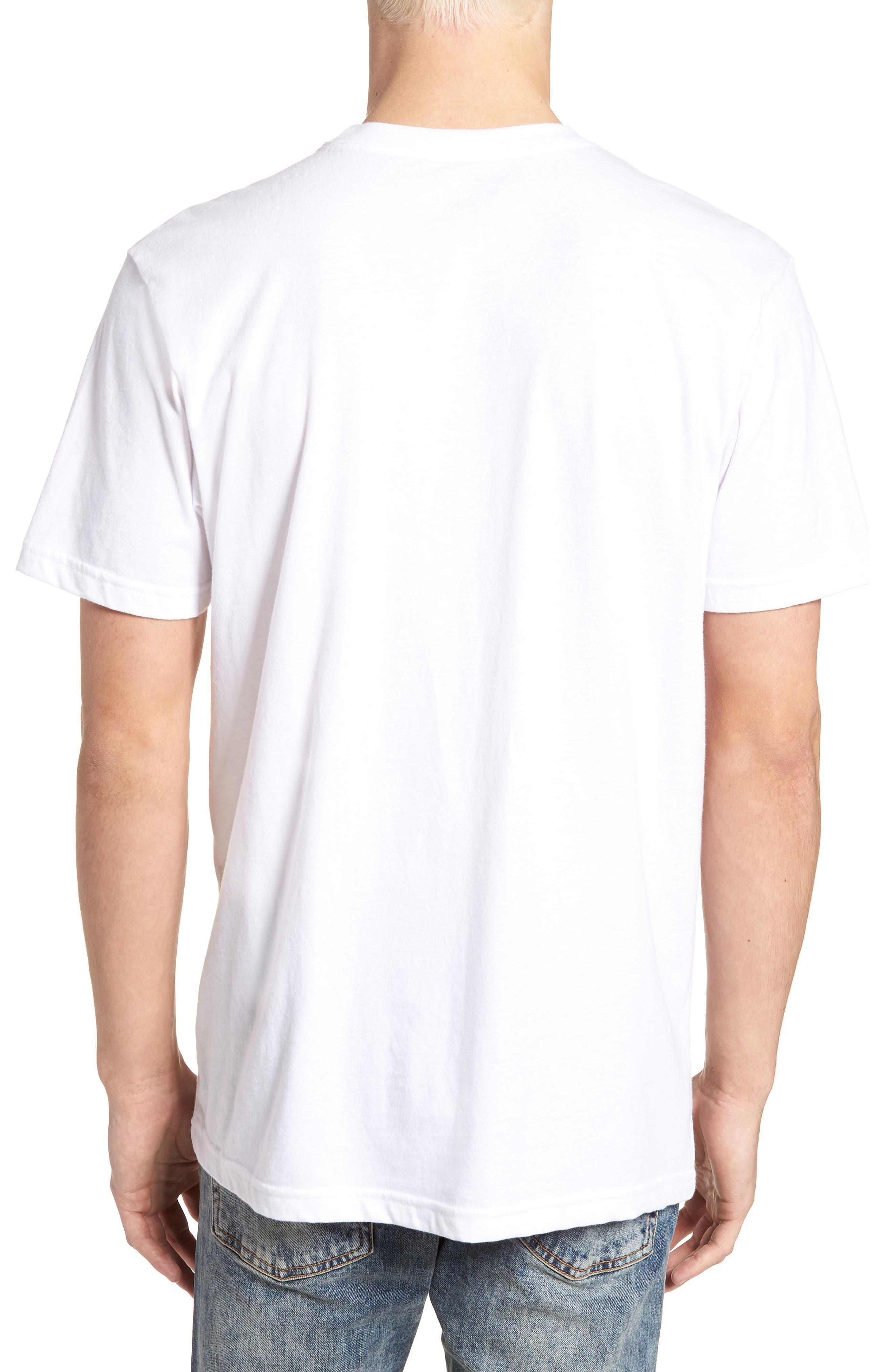 Building T-Shirt,                             Alternate thumbnail 2, color,                             WHITE