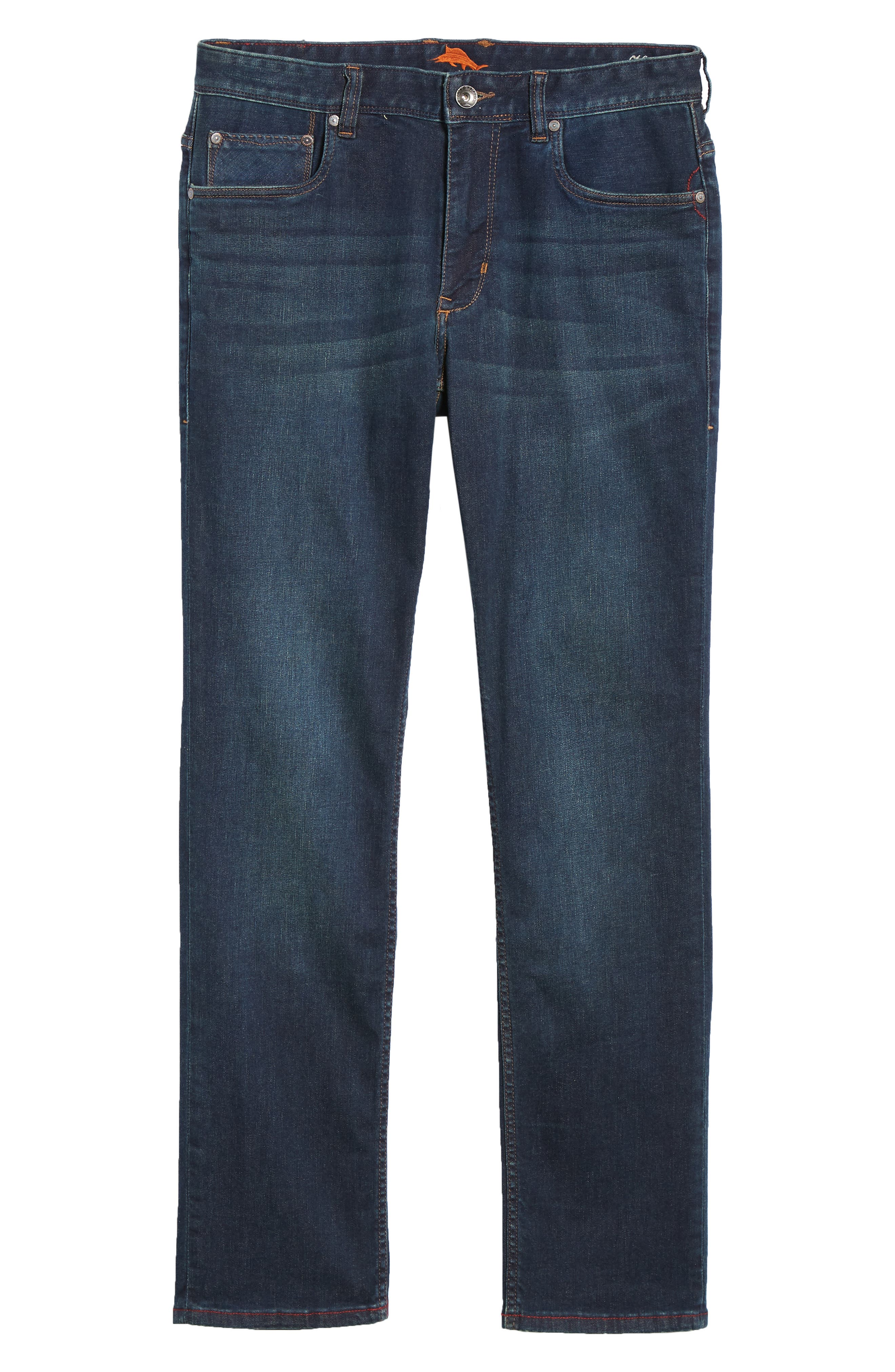 Costa Rica Vintage Regular Fit Jeans,                             Alternate thumbnail 6, color,                             RINSE WASH