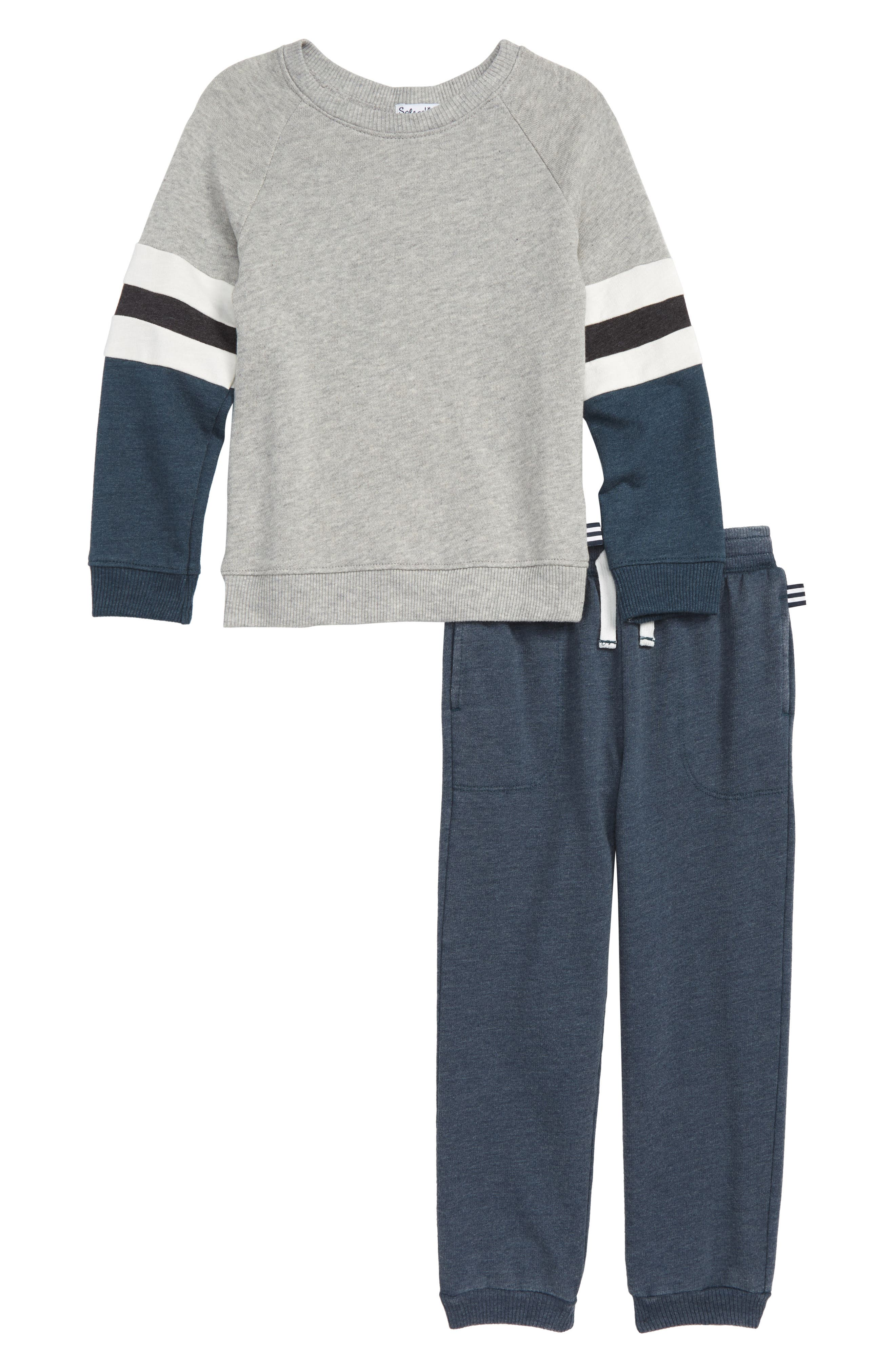 Toddler Boys Splendid Sweatshirt  Sweatpants Set