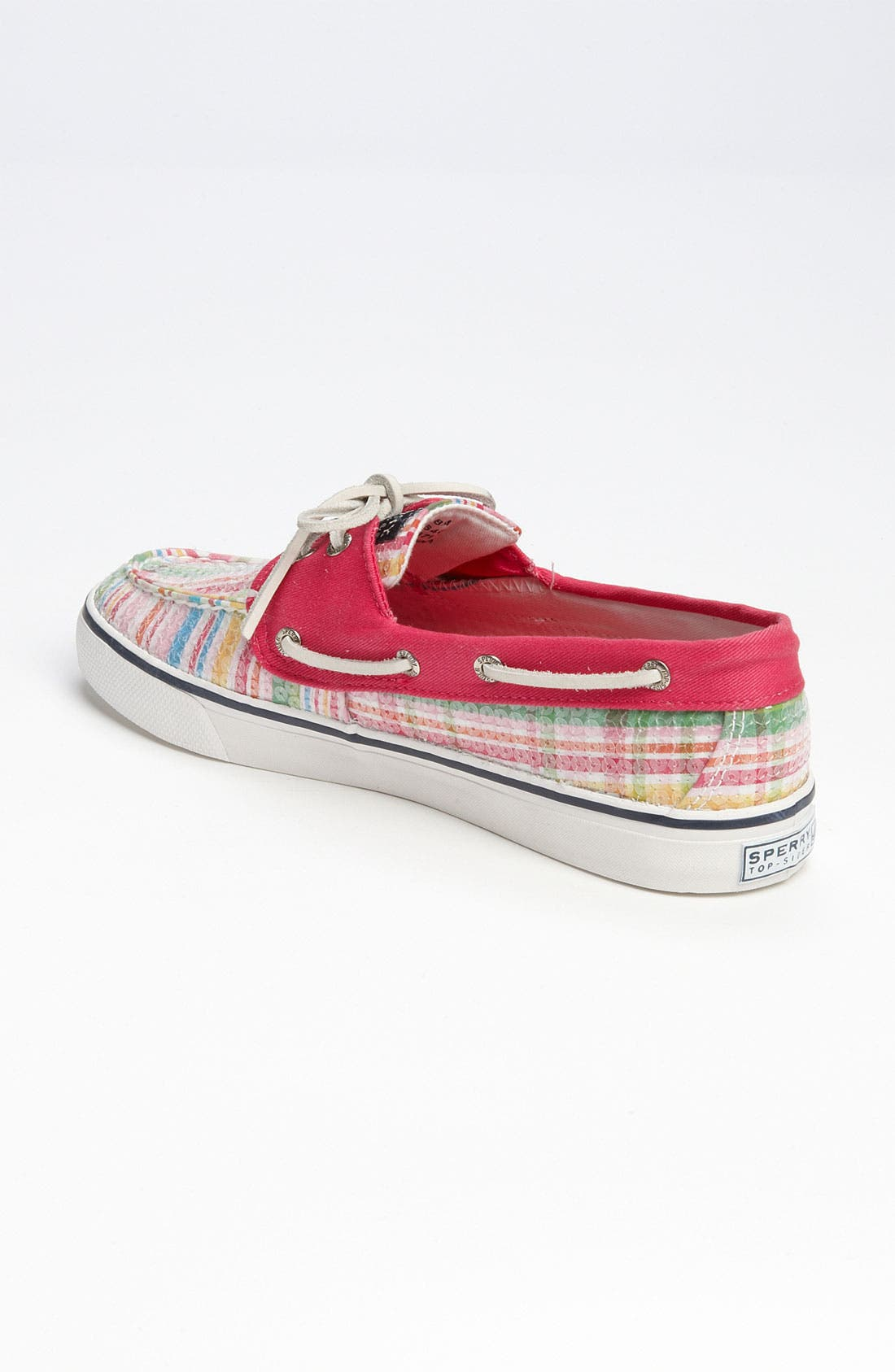 Top-Sider<sup>®</sup> 'Bahama' Sequined Boat Shoe,                             Alternate thumbnail 122, color,