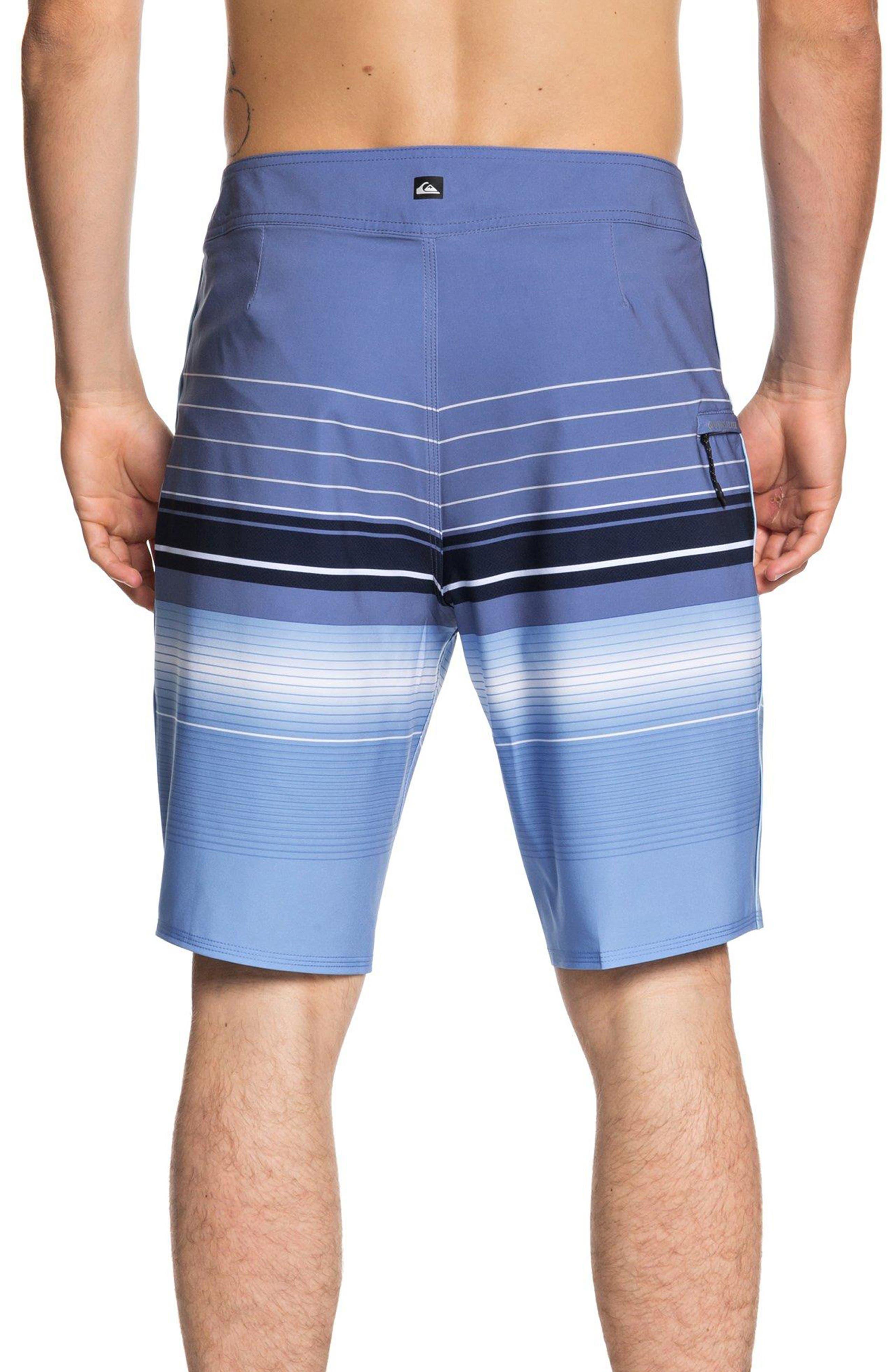 Highline Swell Vision Board Shorts,                             Alternate thumbnail 2, color,                             BIJOU BLUE
