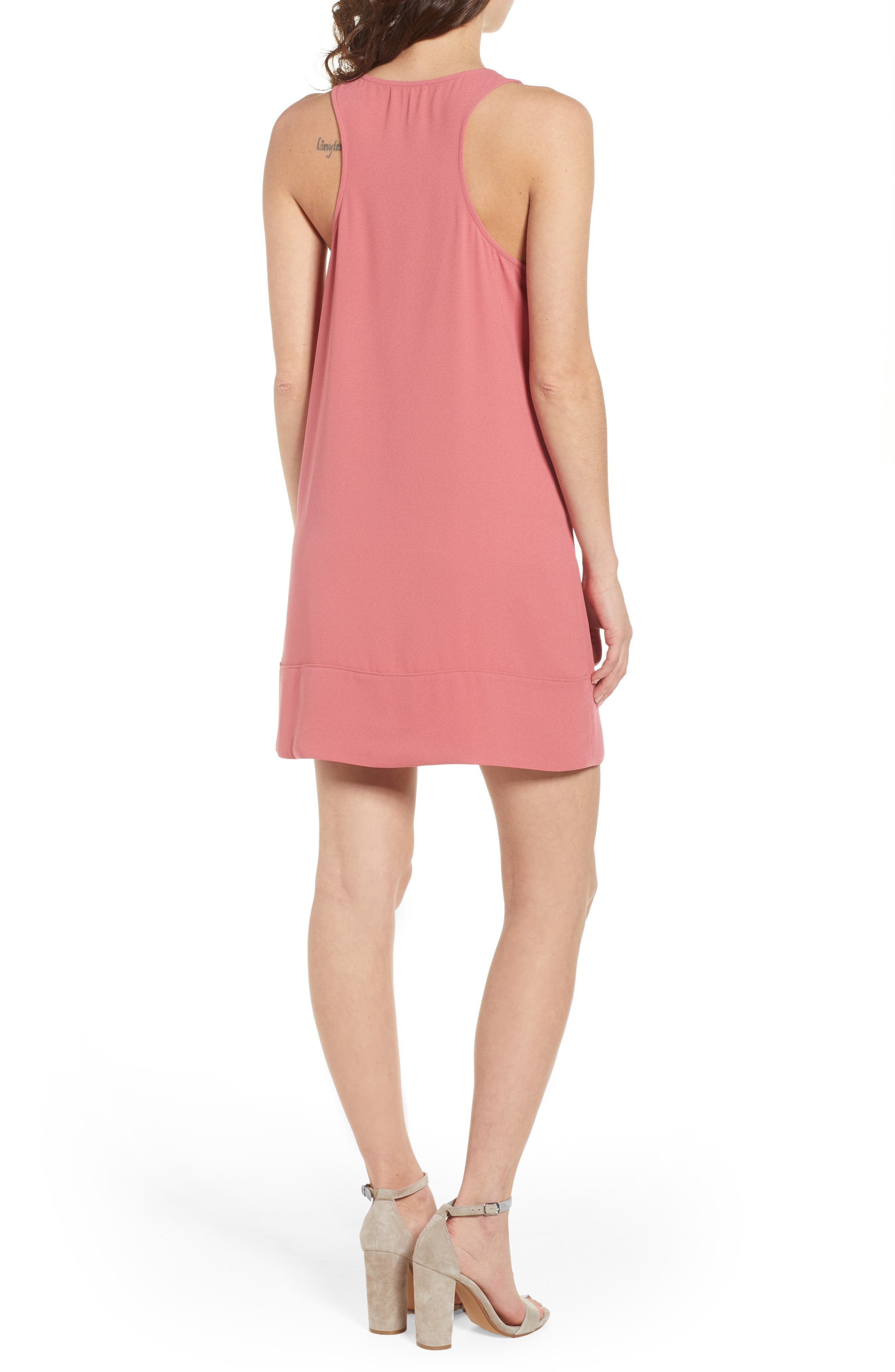 Racerback Shift Dress,                             Alternate thumbnail 61, color,