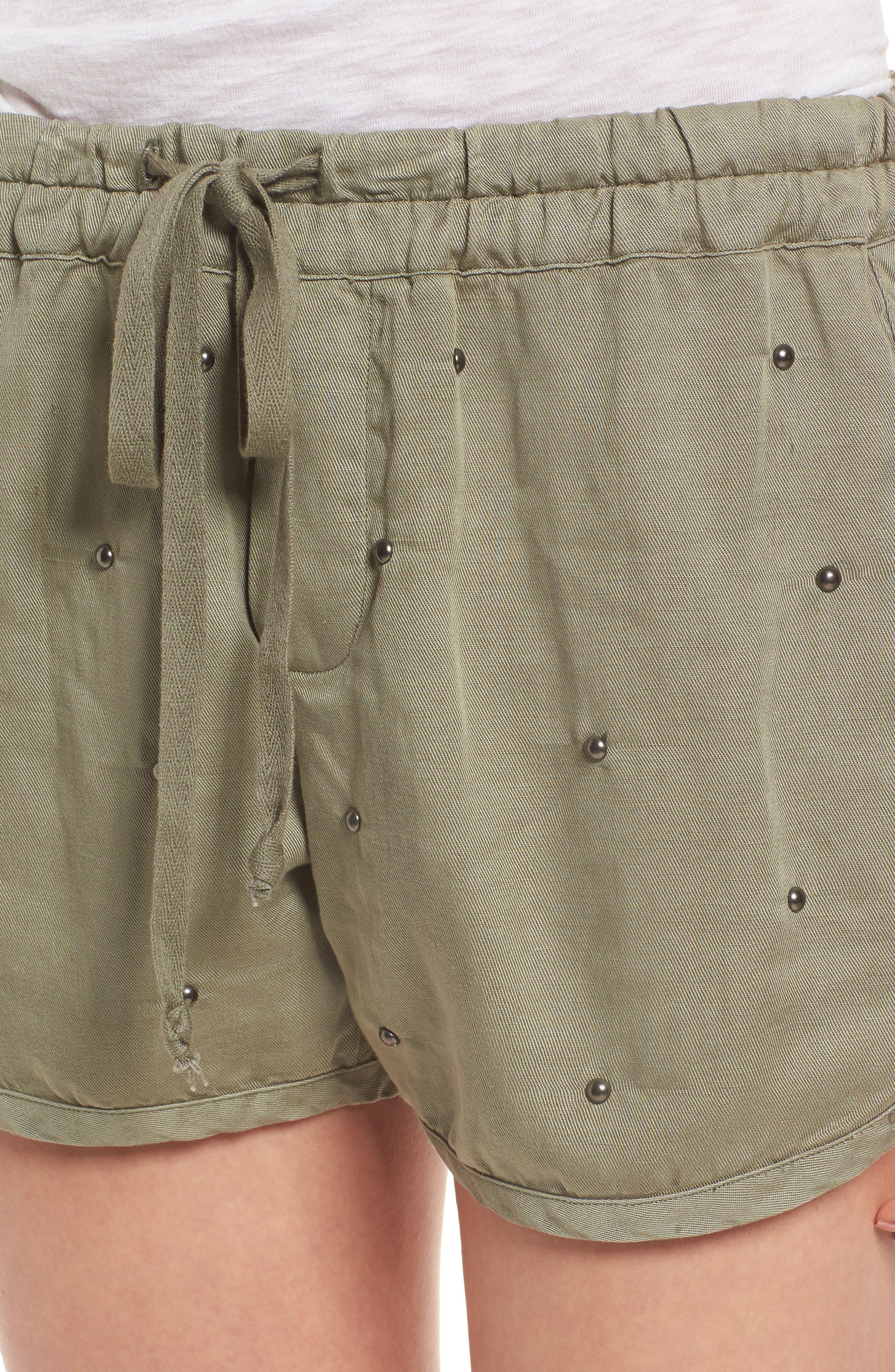 Thatcher Drawstring Shorts,                             Alternate thumbnail 4, color,                             307