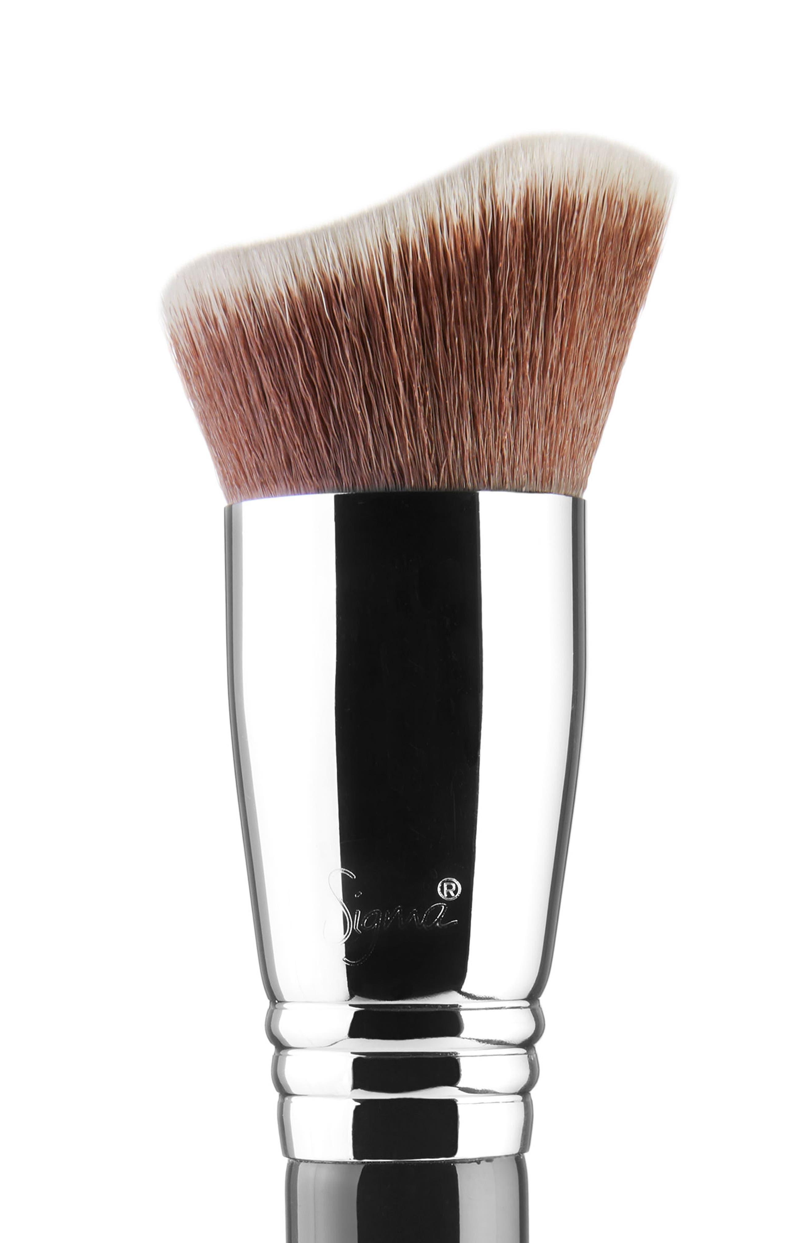 Sigma F83 Curved Kabuki<sup>™</sup> Brush,                             Alternate thumbnail 2, color,                             NO COLOR