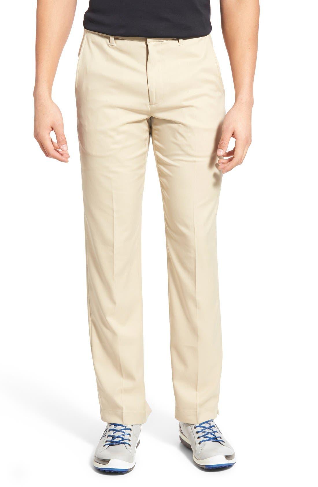 'Tech' Flat Front Wrinkle Free Golf Pants,                             Main thumbnail 5, color,