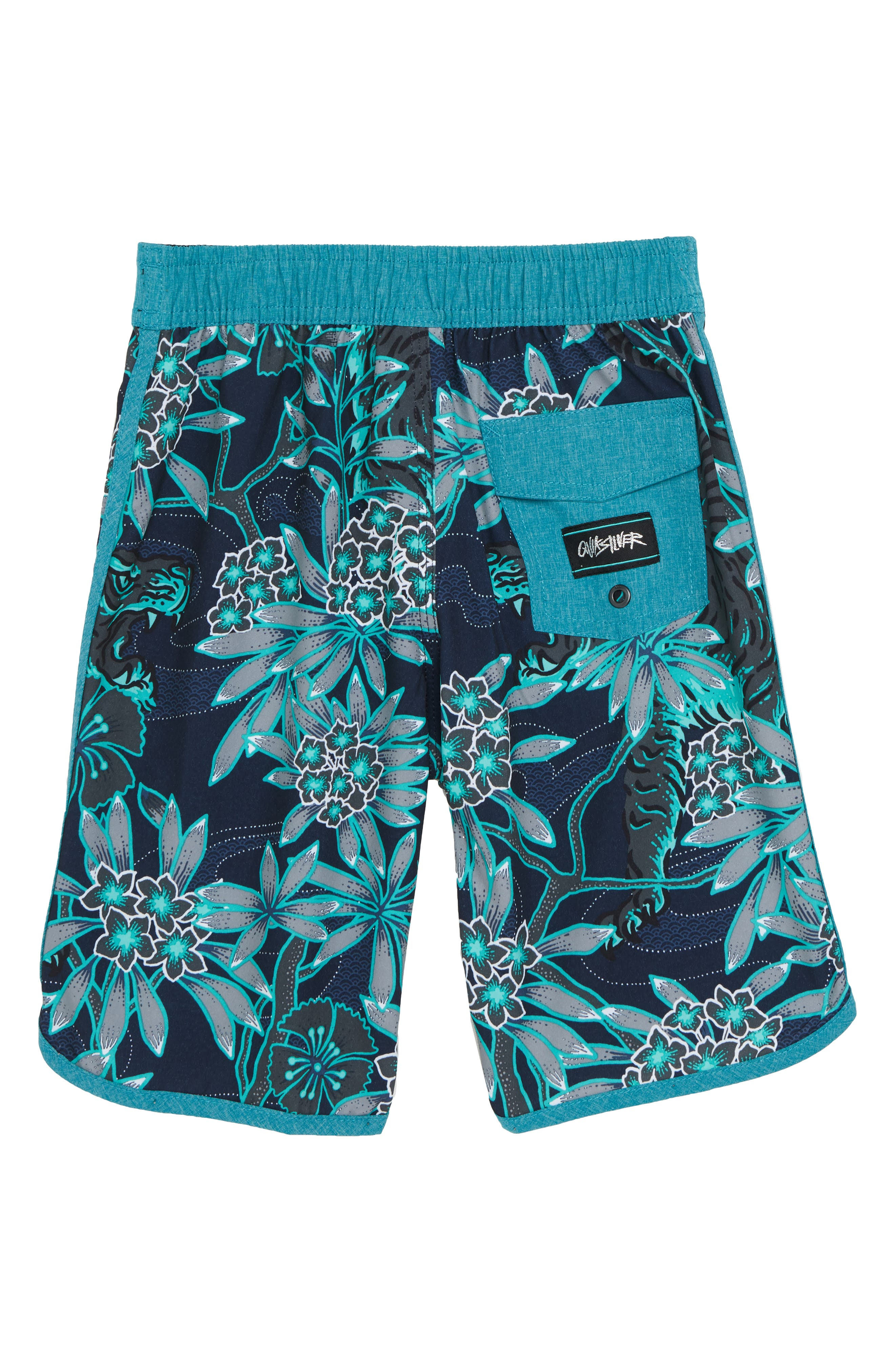 Highline Silent Fury Board Shorts,                             Alternate thumbnail 2, color,                             TYPHOON