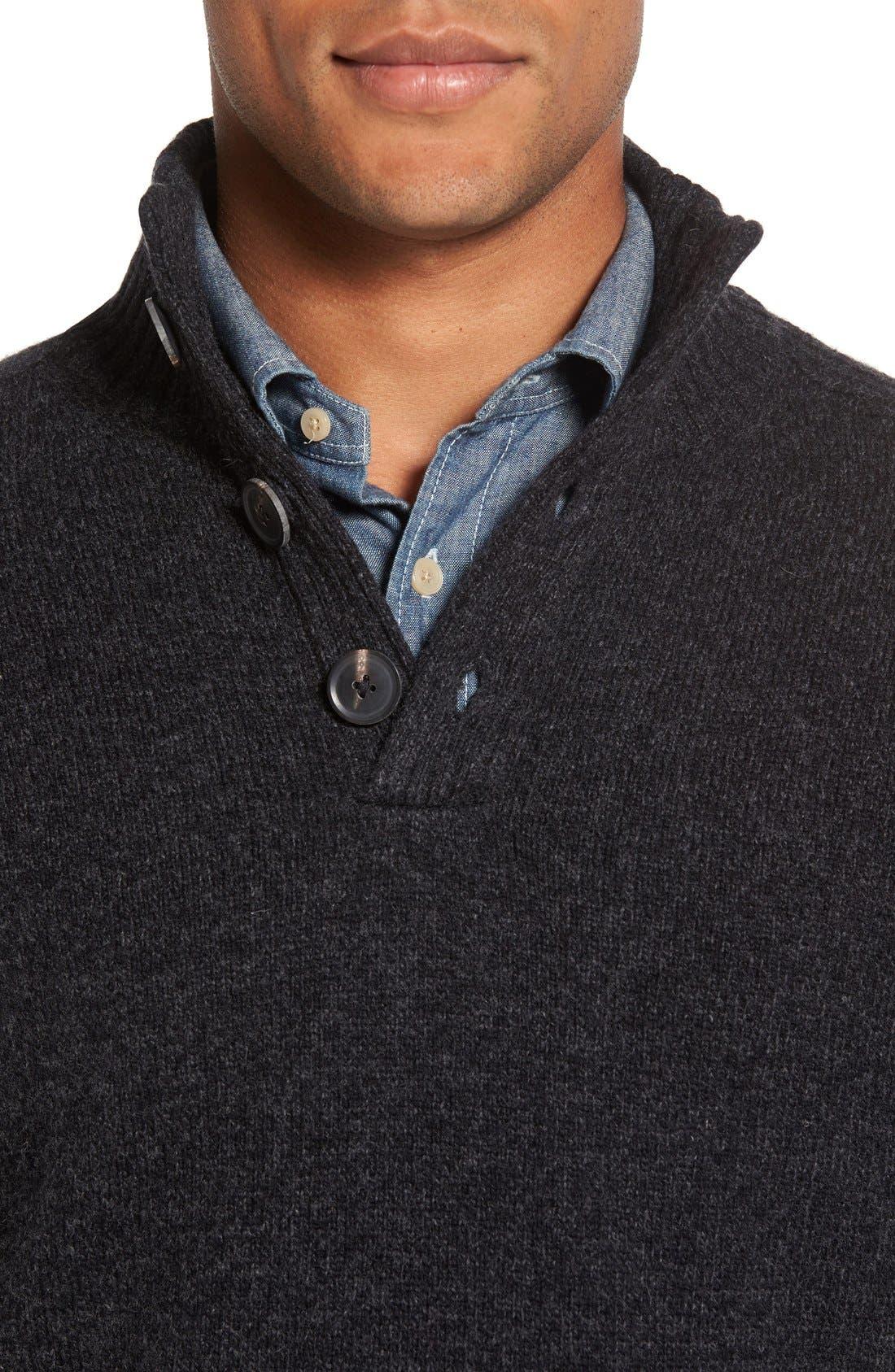 Birkenhead Mock Neck Sweater,                             Alternate thumbnail 4, color,                             021