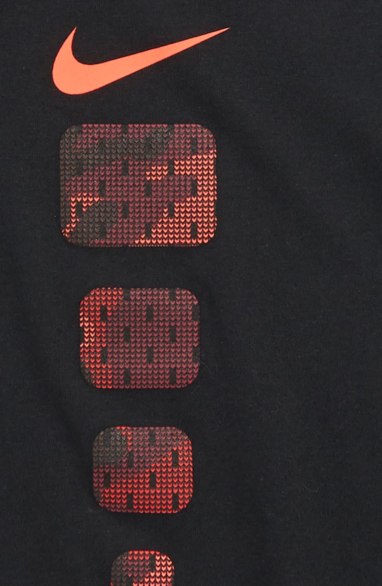 Dry Elite Pods T-Shirt,                             Alternate thumbnail 2, color,                             BLACK/ UNIVERSITY RED