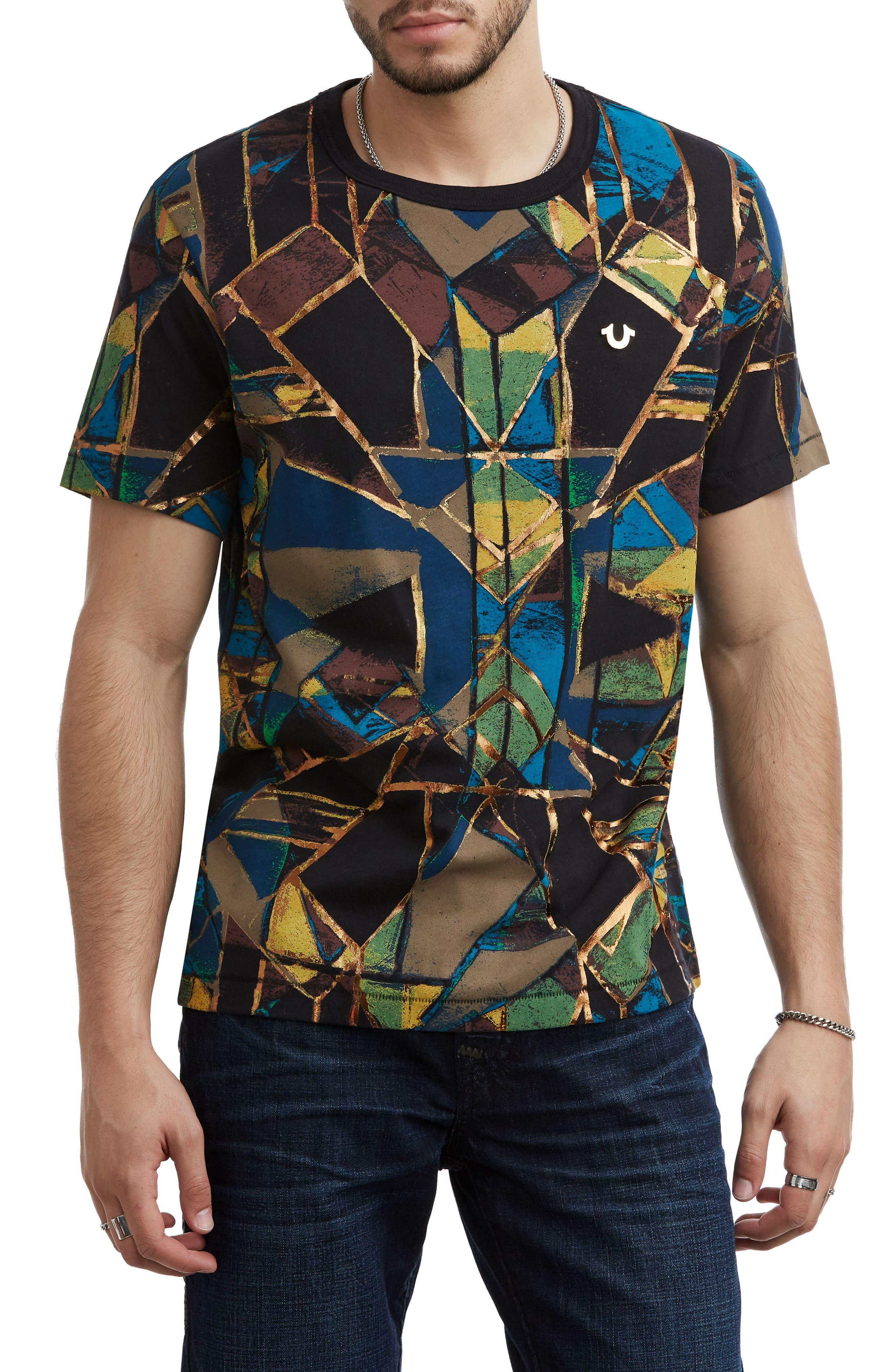 Limelight Graphic T-Shirt,                             Main thumbnail 1, color,                             BLACK MULTI