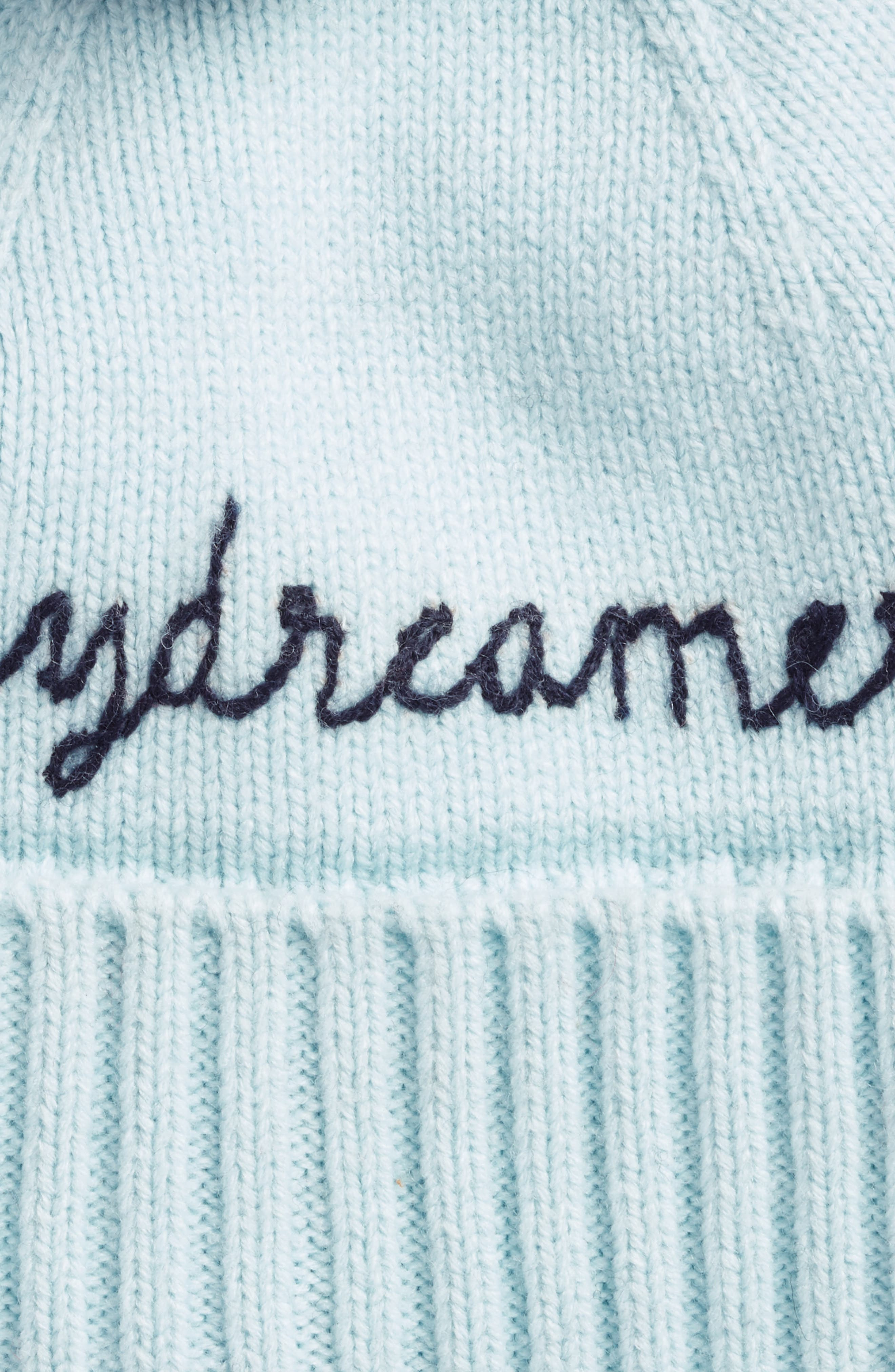 daydreamer beanie,                             Alternate thumbnail 2, color,                             ICY BLUE/ RICH NAVY