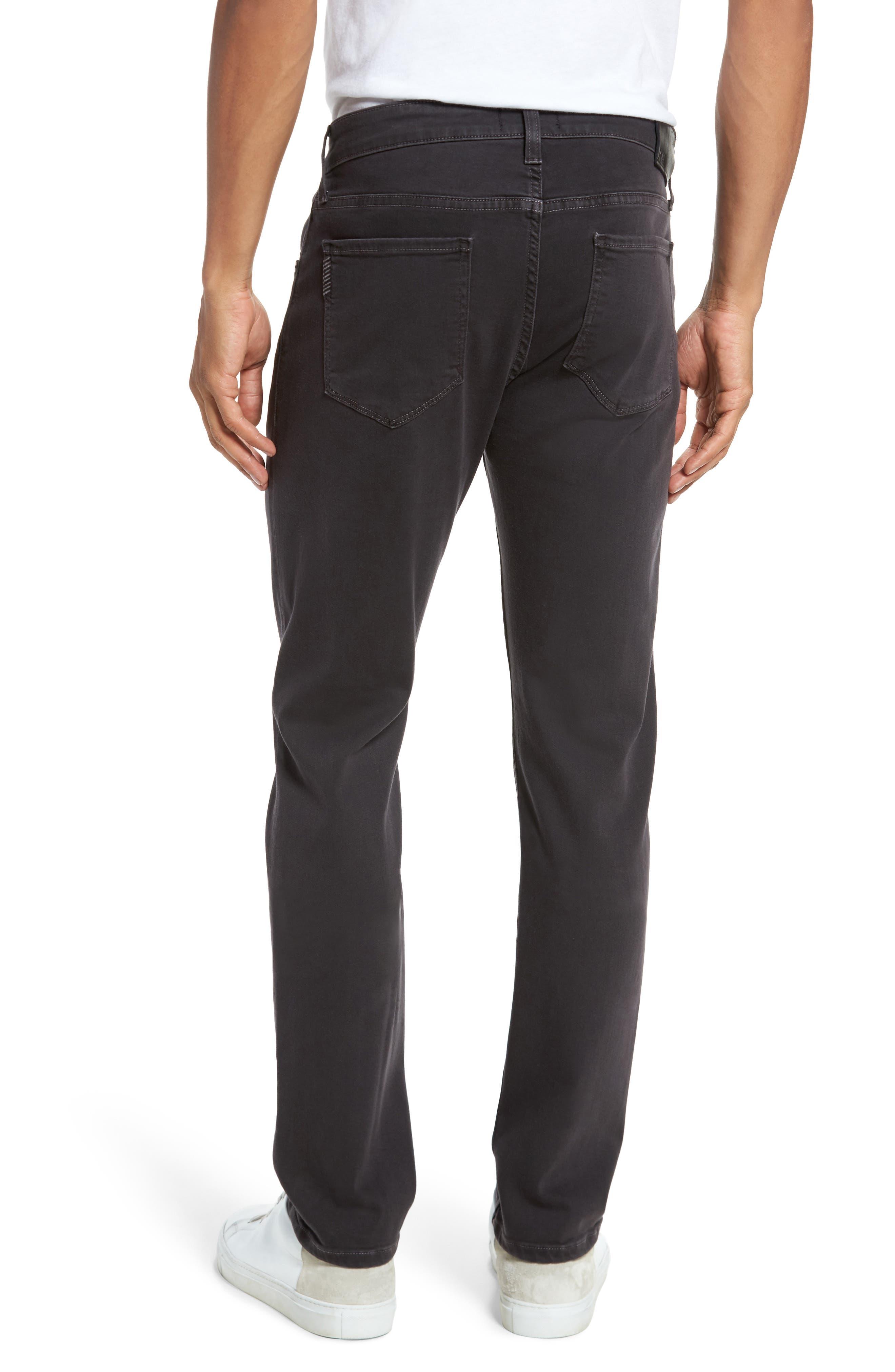 Transcend - Federal Slim Straight Leg Jeans,                             Alternate thumbnail 2, color,                             001