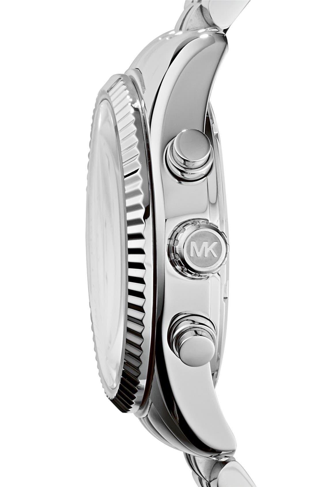 'Lexington' Chronograph Bracelet Watch, 38mm,                             Alternate thumbnail 13, color,