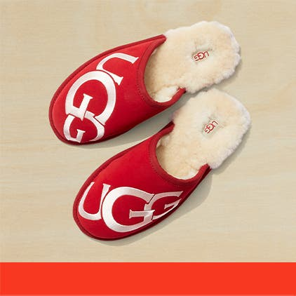 Gifts for her under $100: UGG slippers.