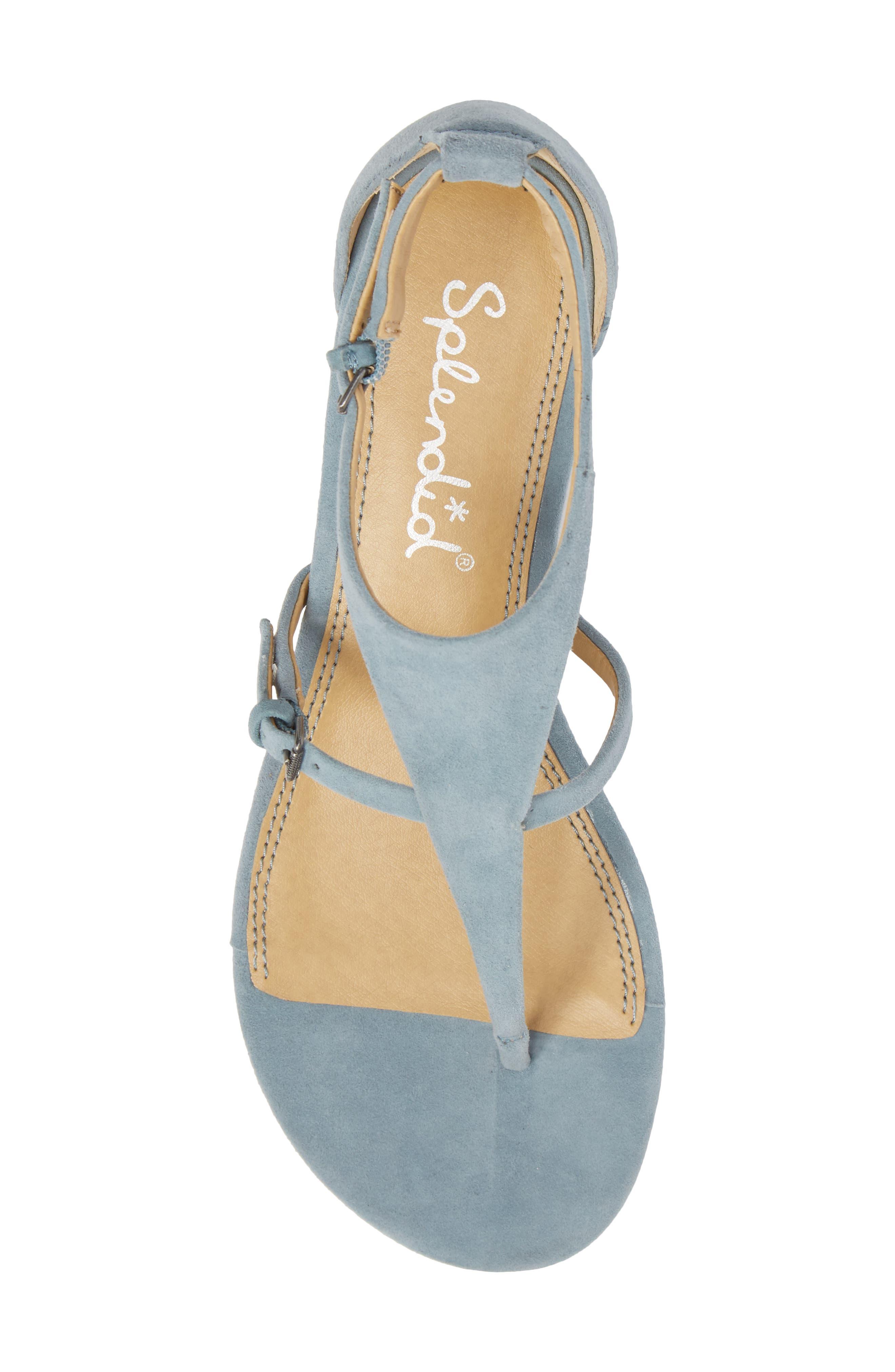 Brooklyn V-Strap Wedge Sandal,                             Alternate thumbnail 20, color,