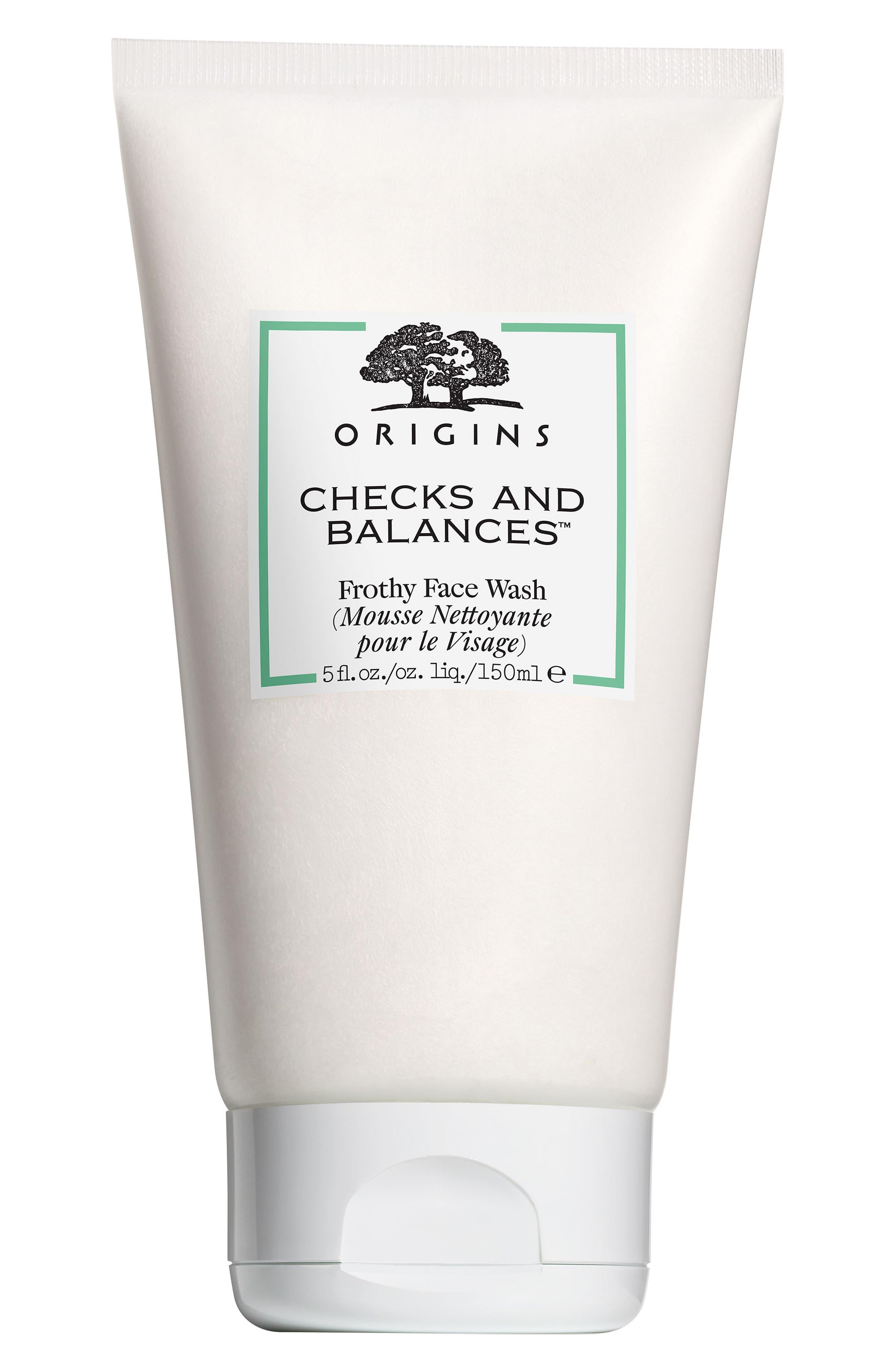 Checks and Balances<sup>™</sup> Frothy Face Wash,                             Main thumbnail 1, color,                             NO COLOR