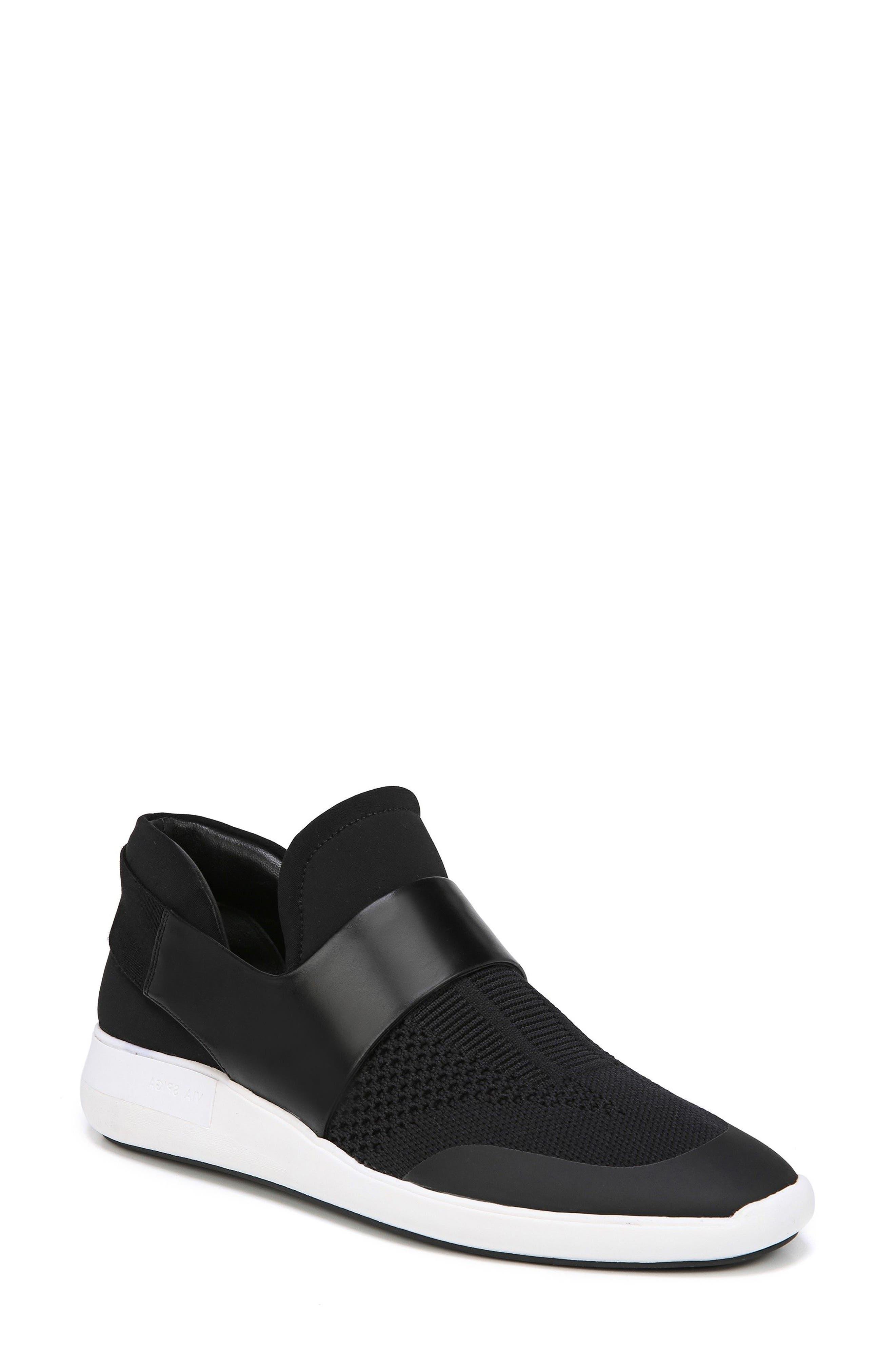 Misha Slip-On Sneaker, Main, color, 001