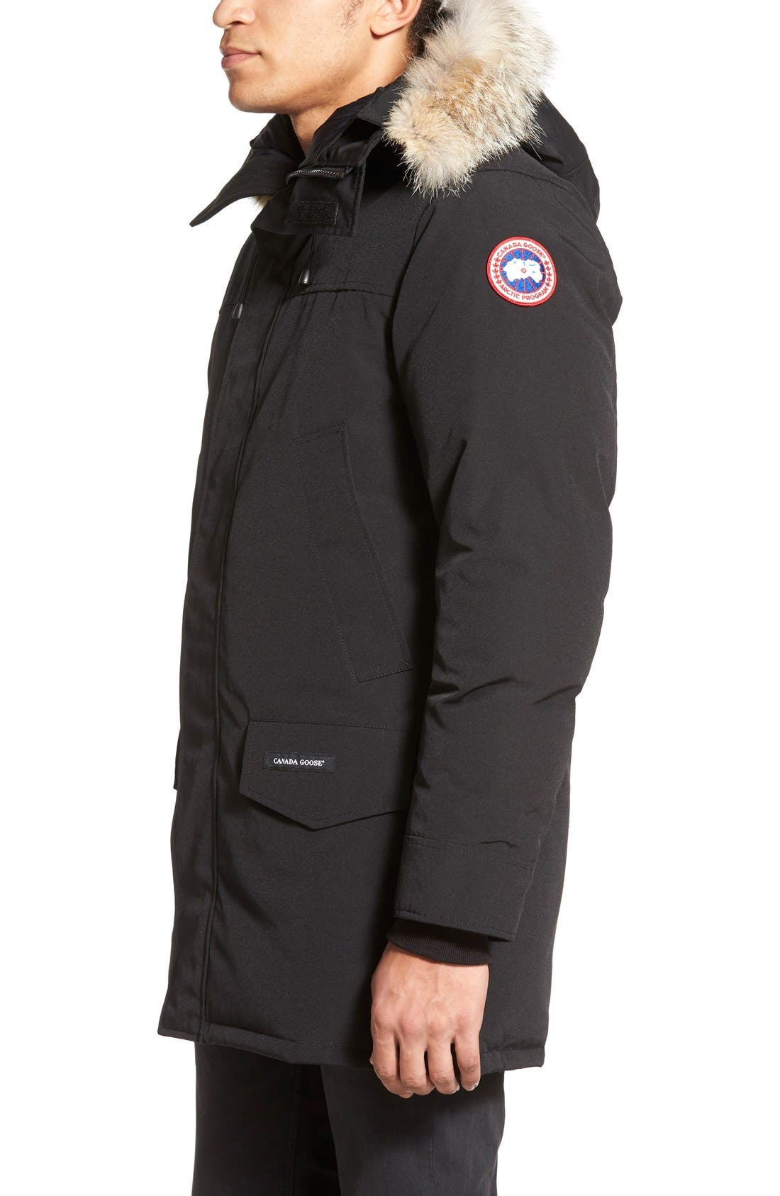 canada goose langford slim fit down parka with genuine coyote fur rh shop nordstrom com