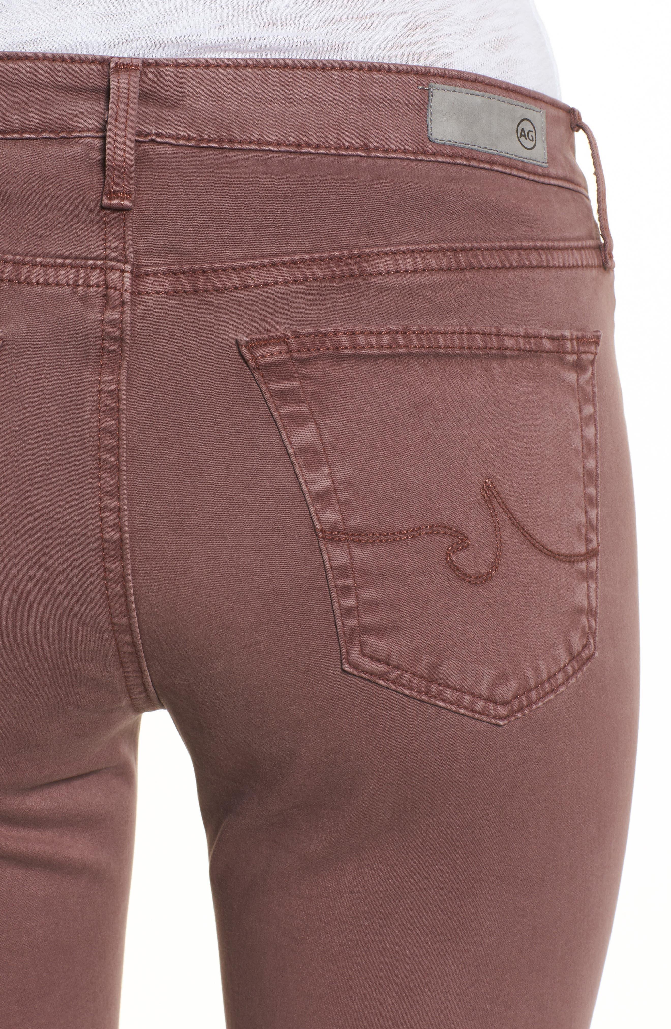 The Legging Ankle Jeans,                             Alternate thumbnail 4, color,                             SULFUR BLACKBERRY