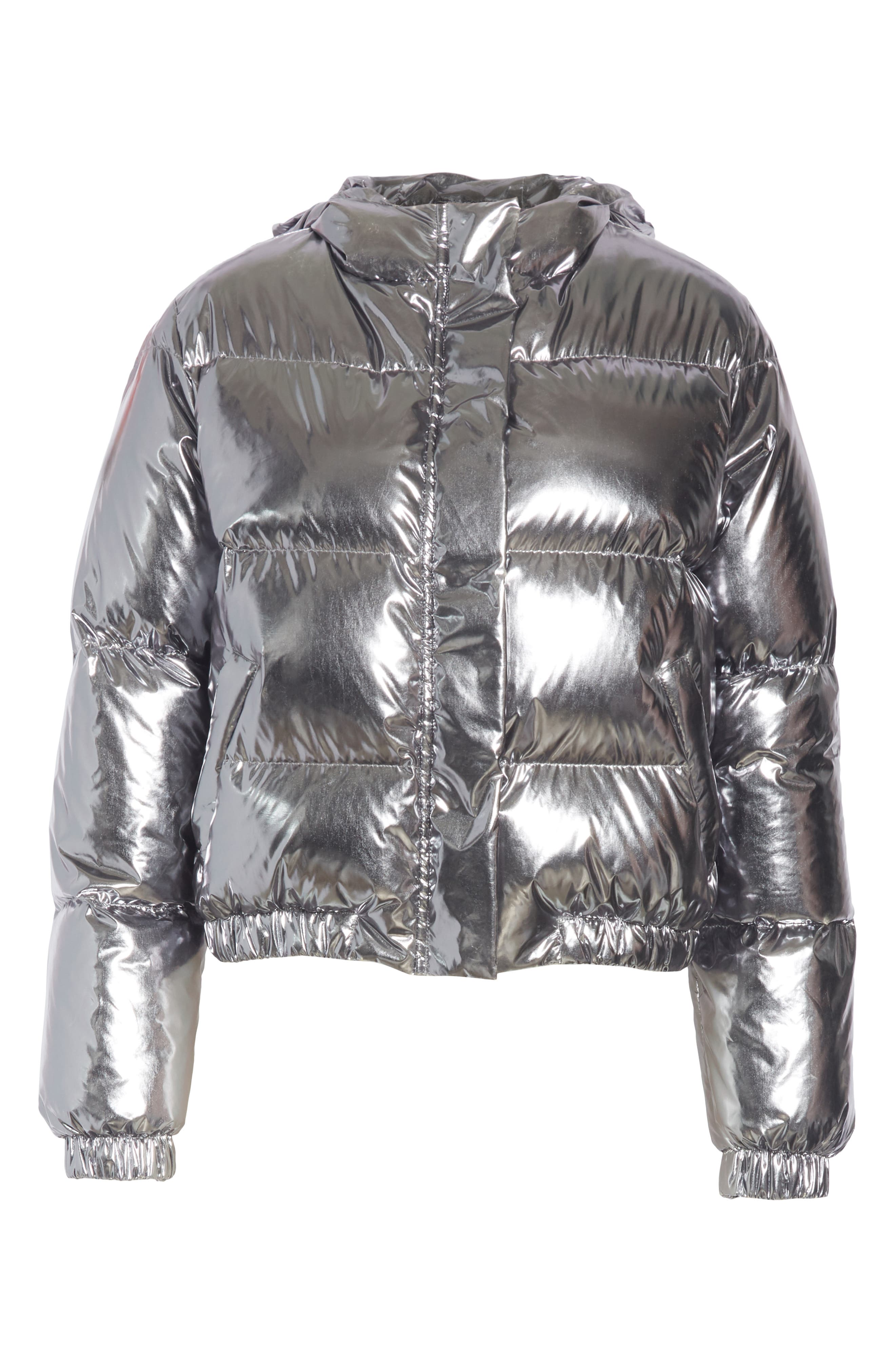 Durham Hooded Crop Down Puffer,                             Alternate thumbnail 5, color,                             046