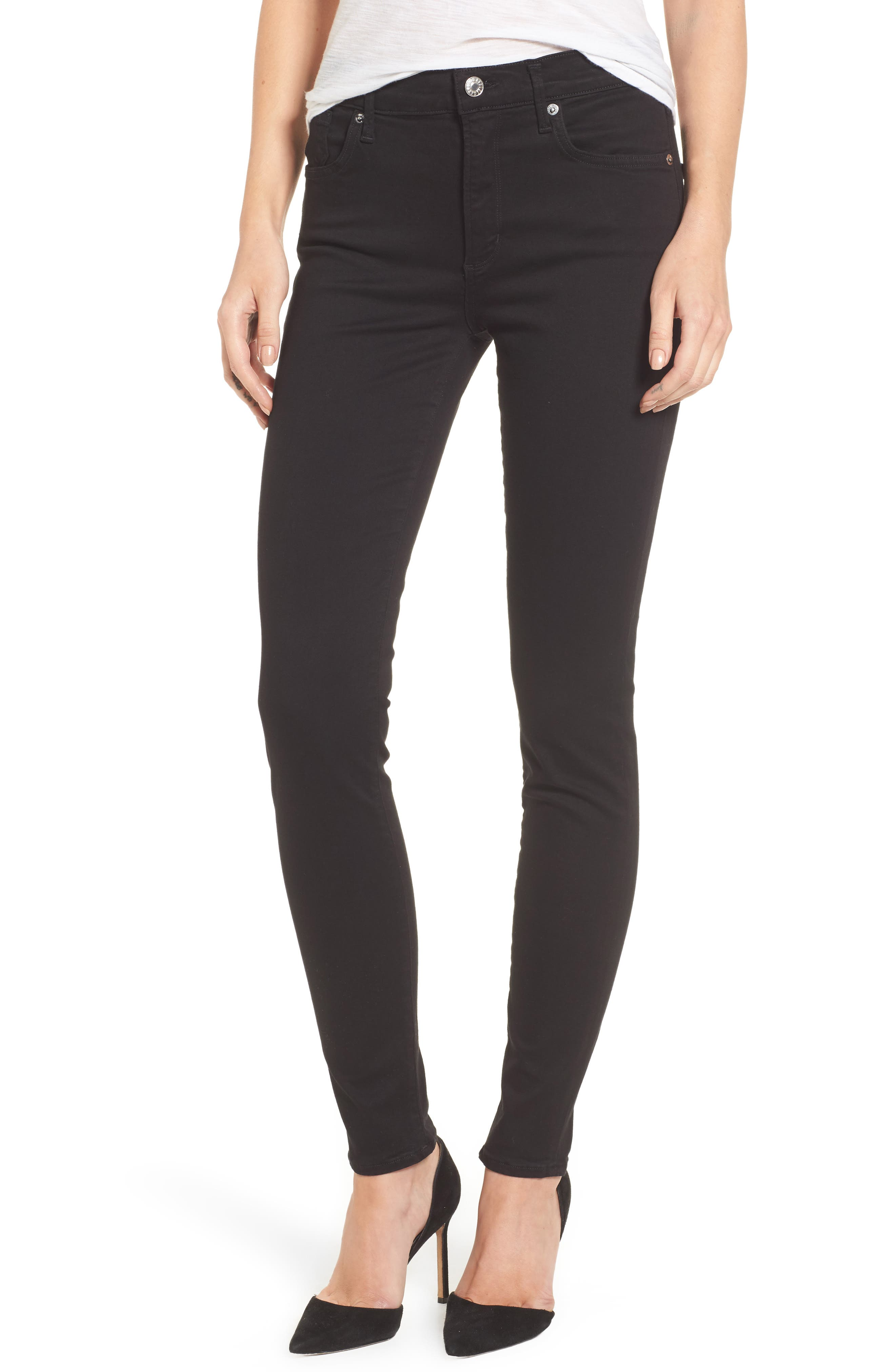 Sophie High Waist Skinny Jeans,                             Main thumbnail 1, color,                             002