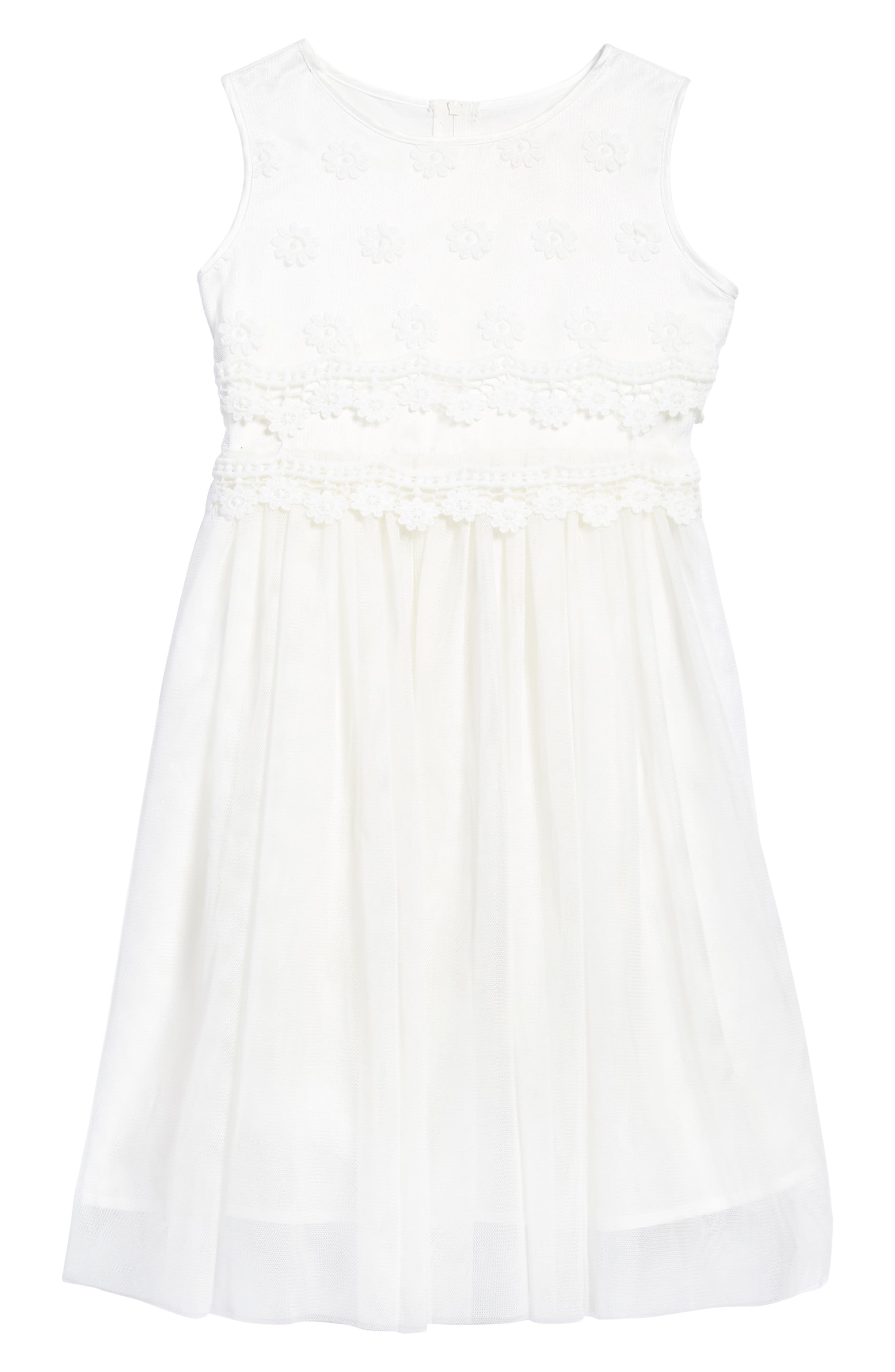 Daisy Tulle Dress,                             Main thumbnail 1, color,
