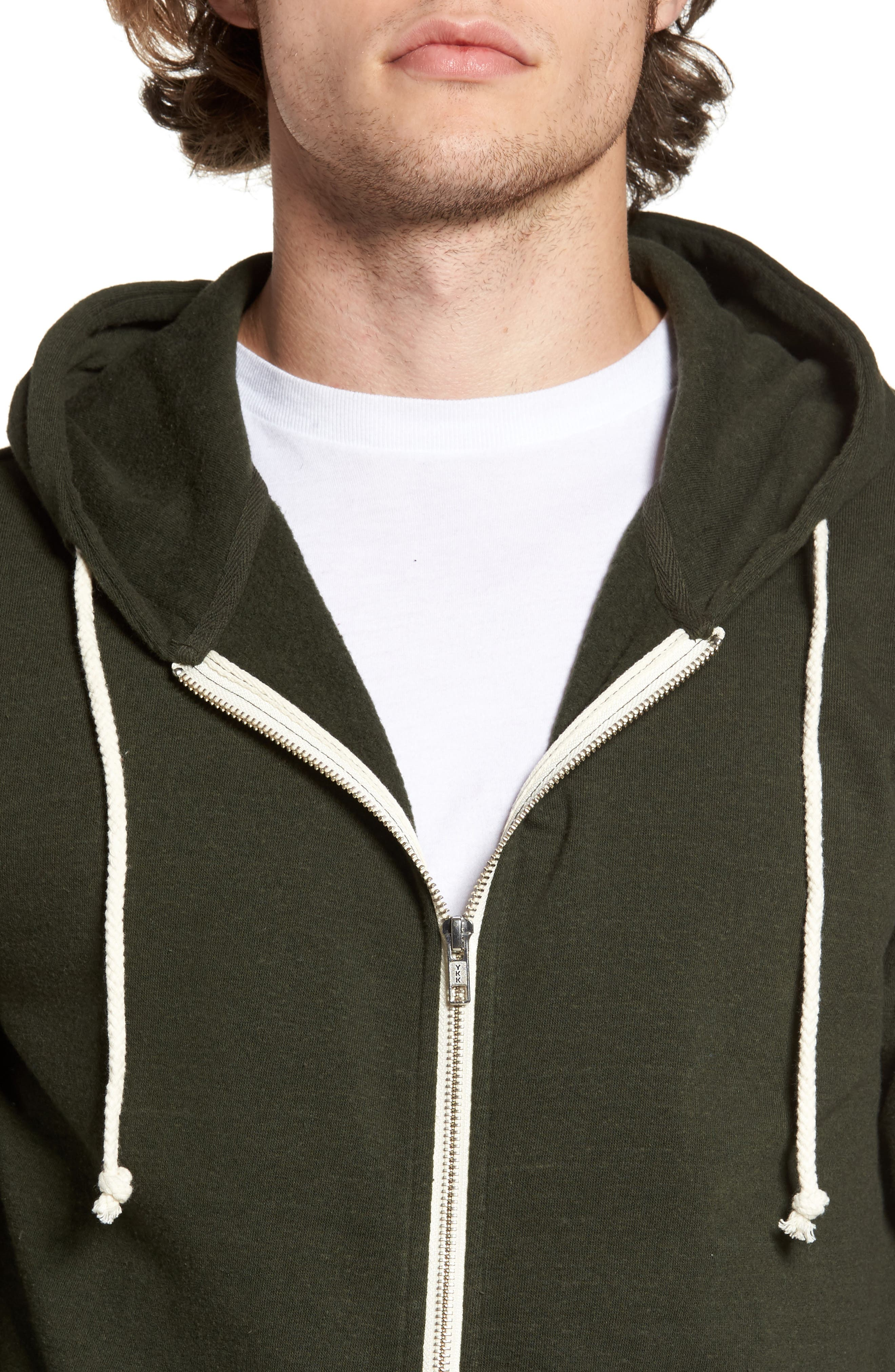 Threads for Thought Trim Fit Heathered Hoodie,                             Alternate thumbnail 51, color,