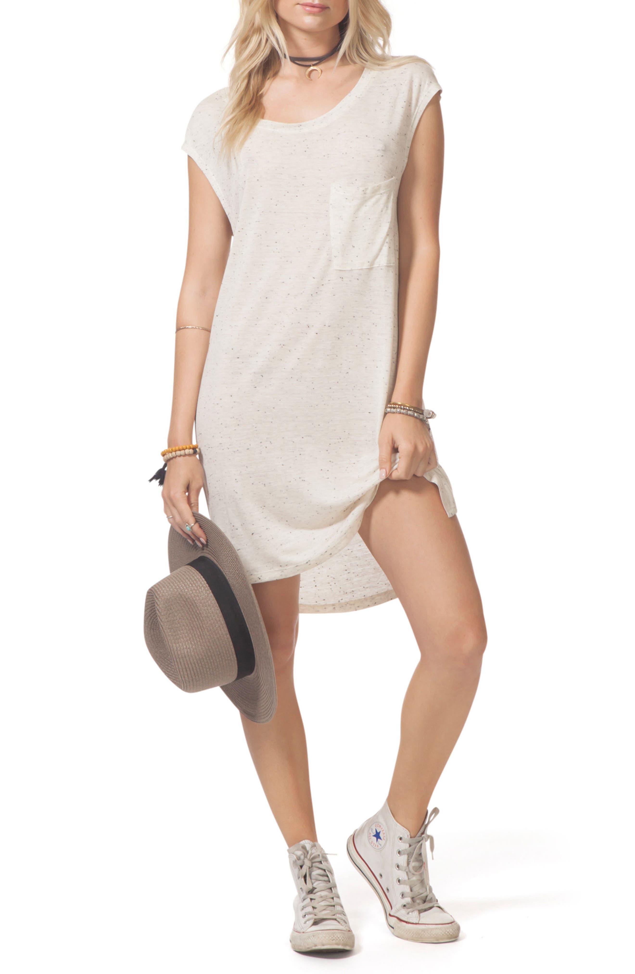Premium Surf Knit Dress,                             Alternate thumbnail 5, color,