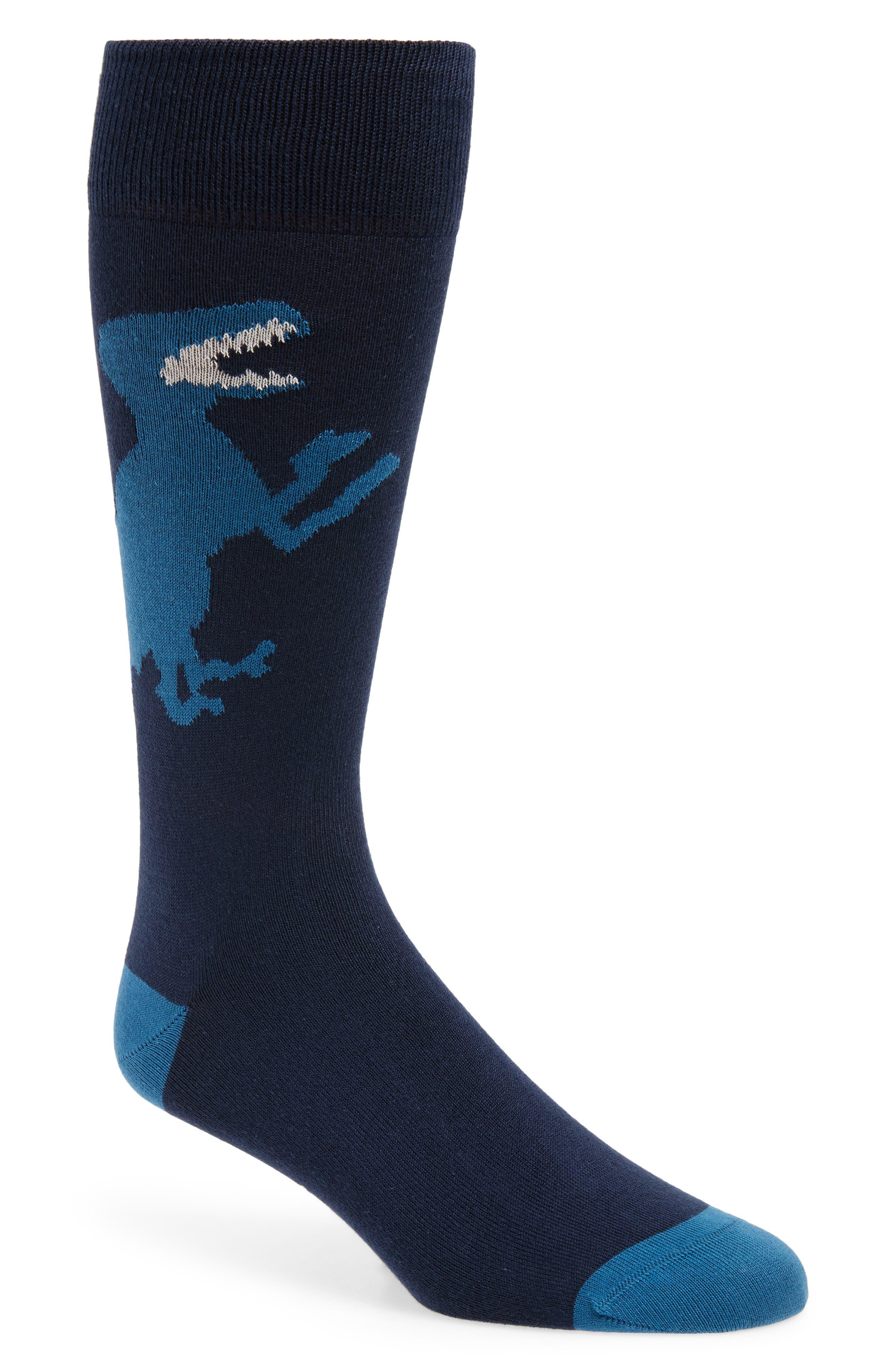Big Dinosaur Socks, Main, color, 415