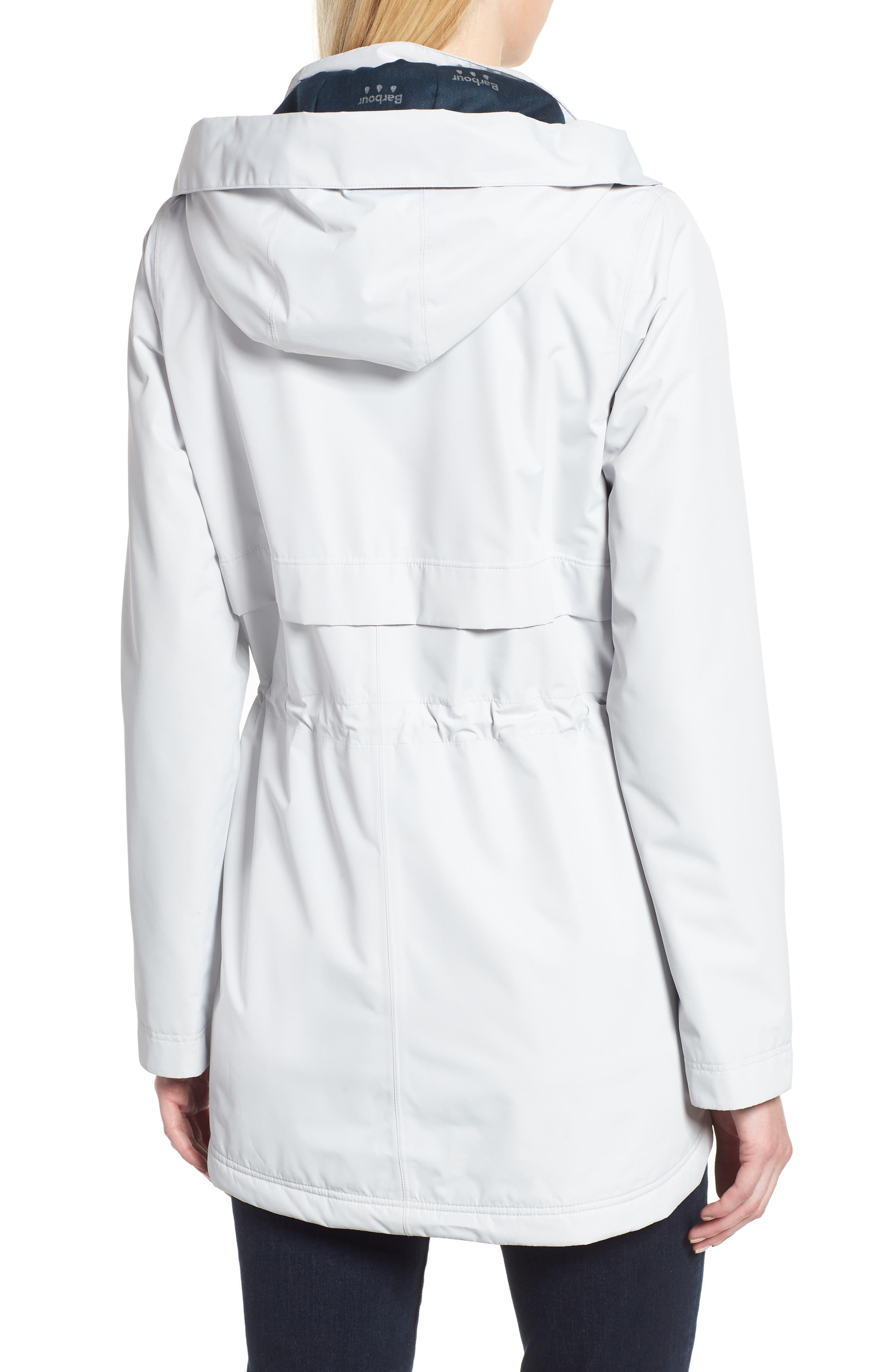 Altair Waterproof Hooded Jacket,                             Alternate thumbnail 2, color,                             ICE WHITE