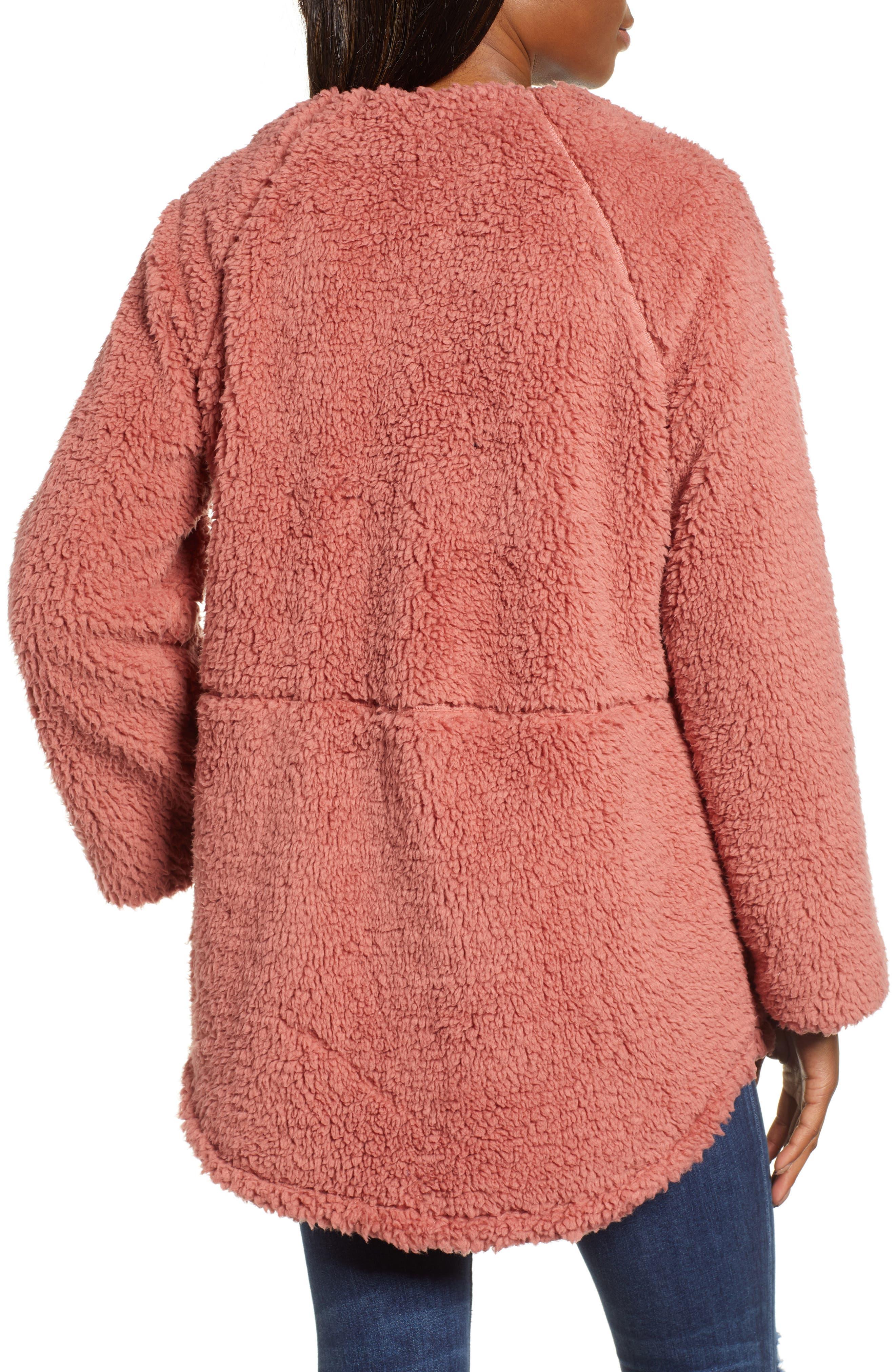 Fuzzy Fleece Jacket,                             Alternate thumbnail 2, color,                             650