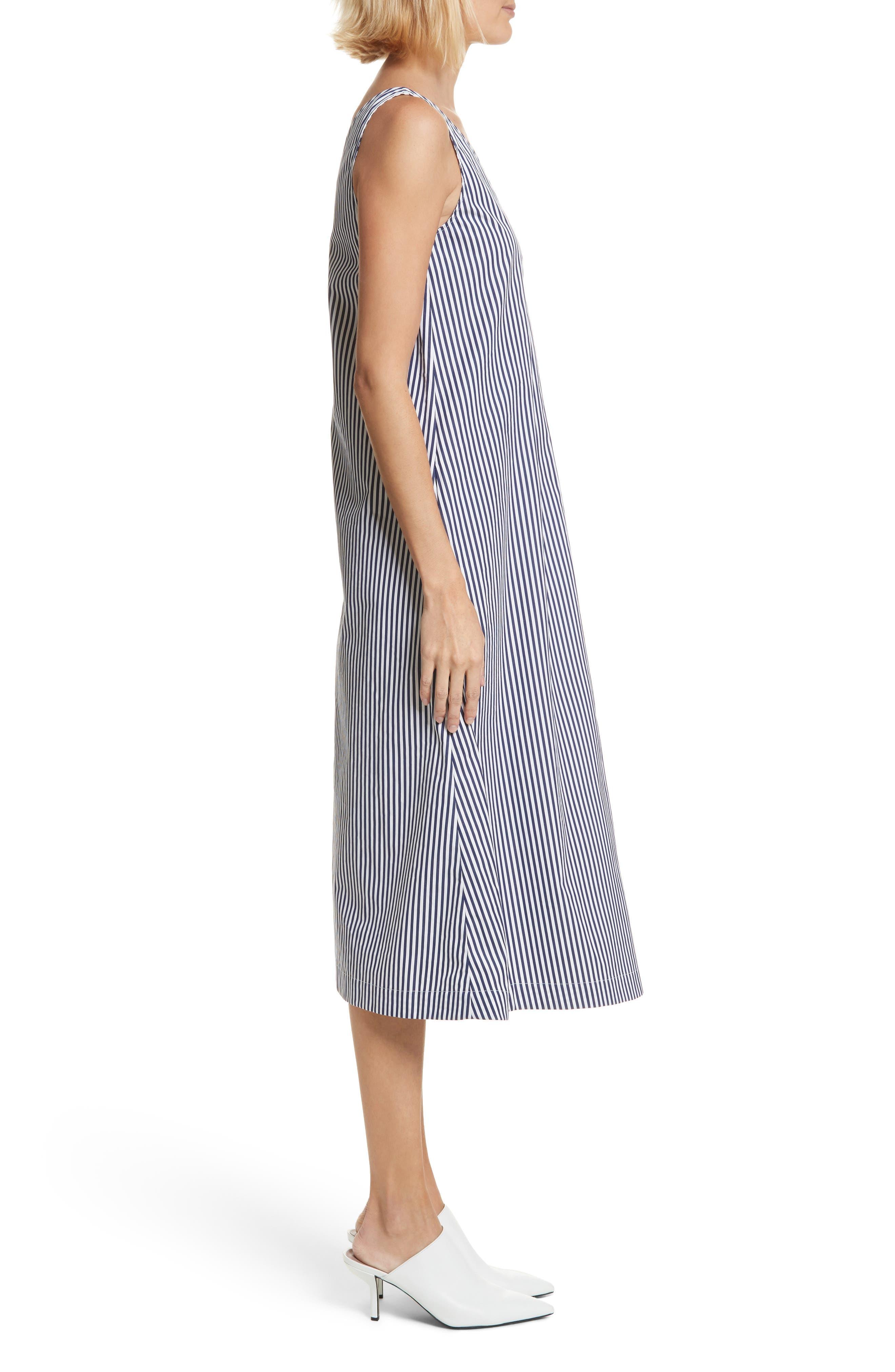 Davey Candy Stripe Shift Dress,                             Alternate thumbnail 3, color,                             456