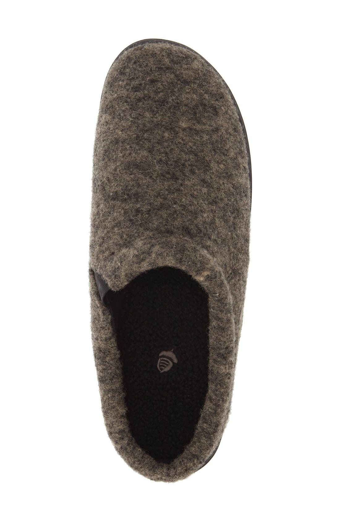 'Digby' Slipper,                             Alternate thumbnail 3, color,                             HEATHER GREIGE