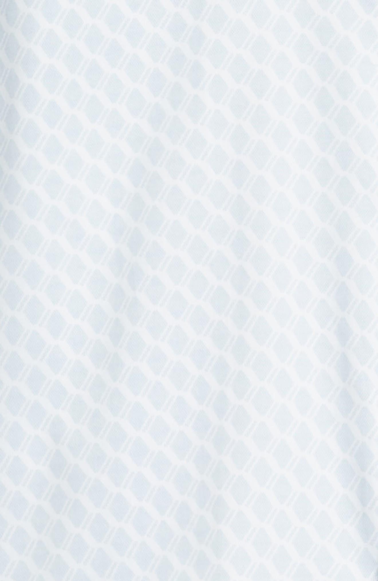 Pimlitt Geo Pattern Sport Shirt,                             Alternate thumbnail 6, color,                             BLUE