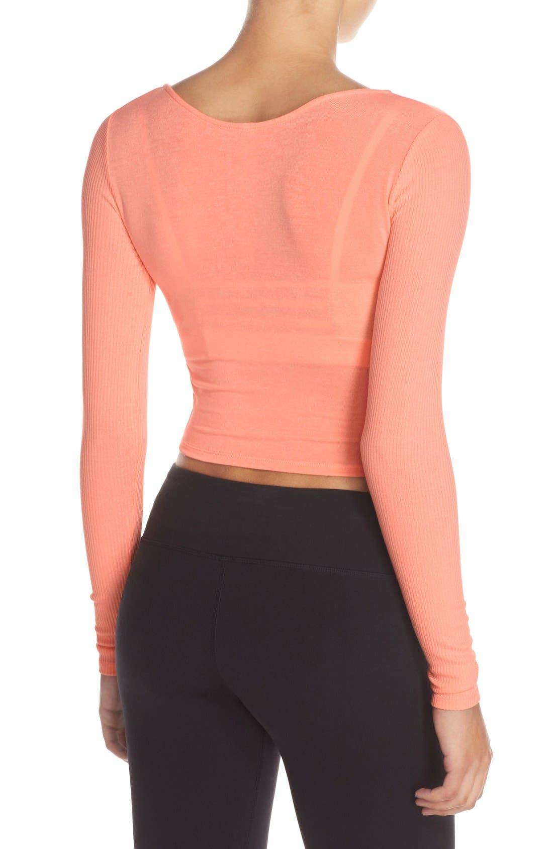 Ameilia Two-Way Crop Top,                             Alternate thumbnail 12, color,