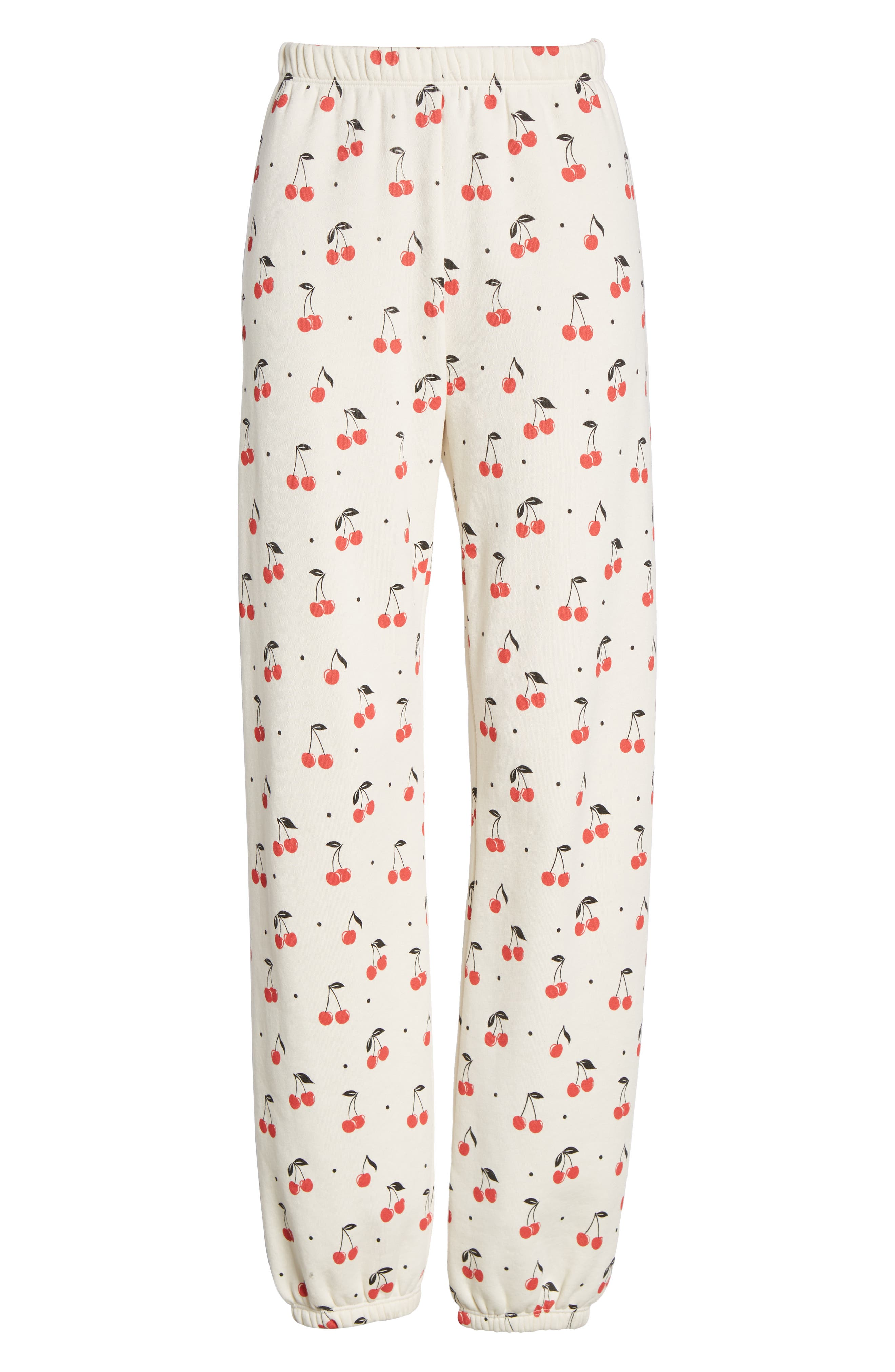 WILDFOX,                             Cherry Oh Baby Easy Sweatpants,                             Alternate thumbnail 7, color,                             VINTAGE LACE